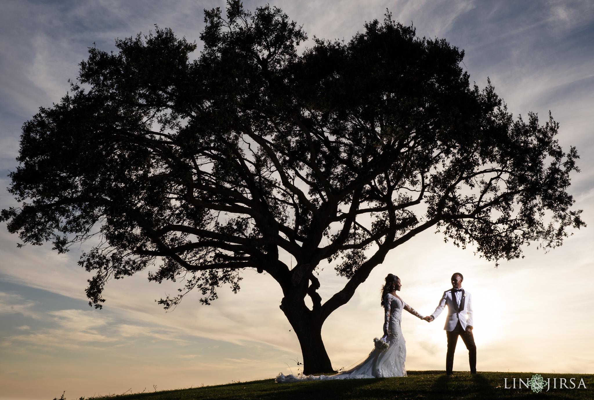 28 Los Verdes Golf Course Palos Verdes Kenyan Wedding Photography