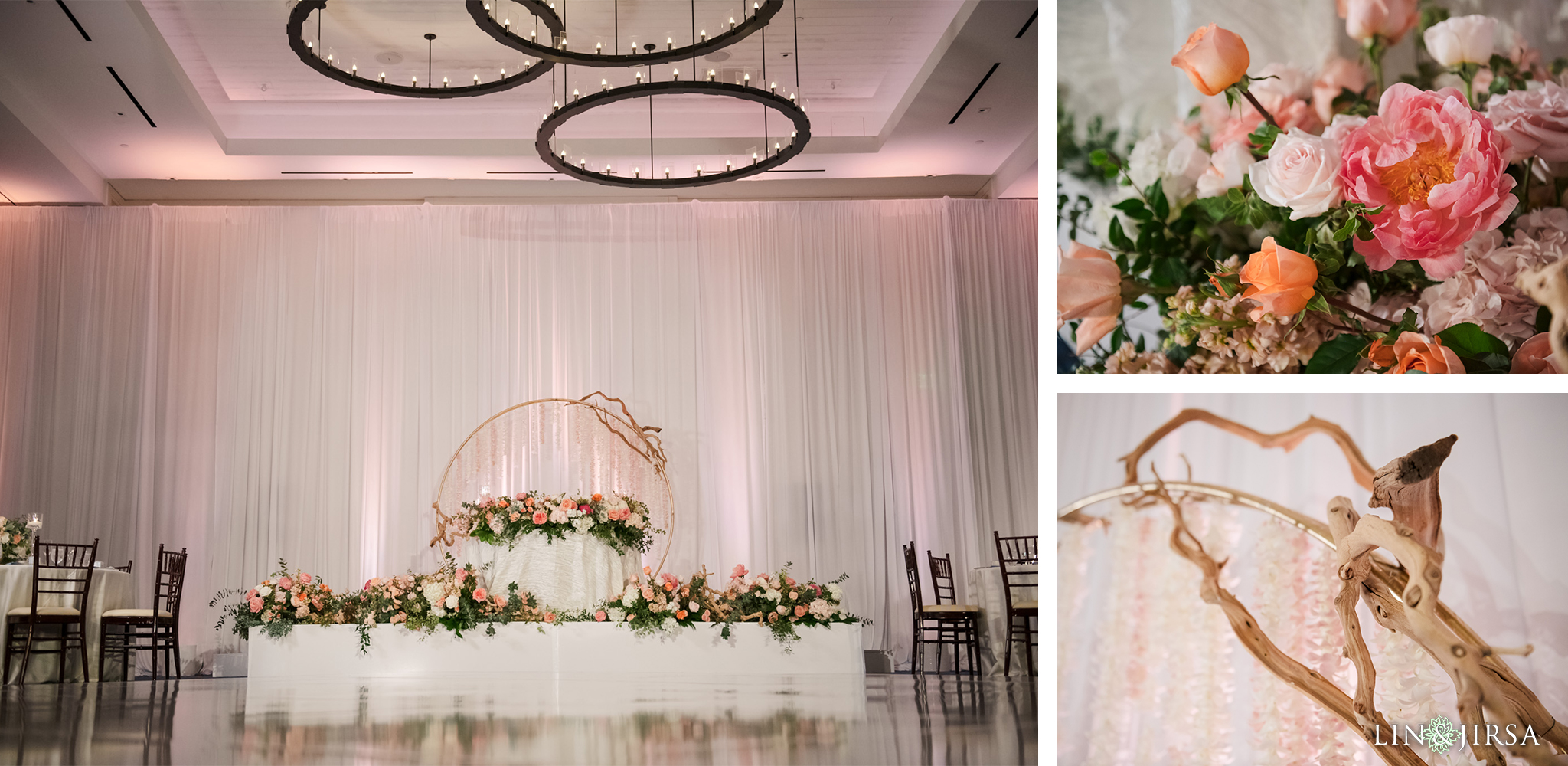 28 The Waterfront Beach Resort Orange County Indian Wedding Photography