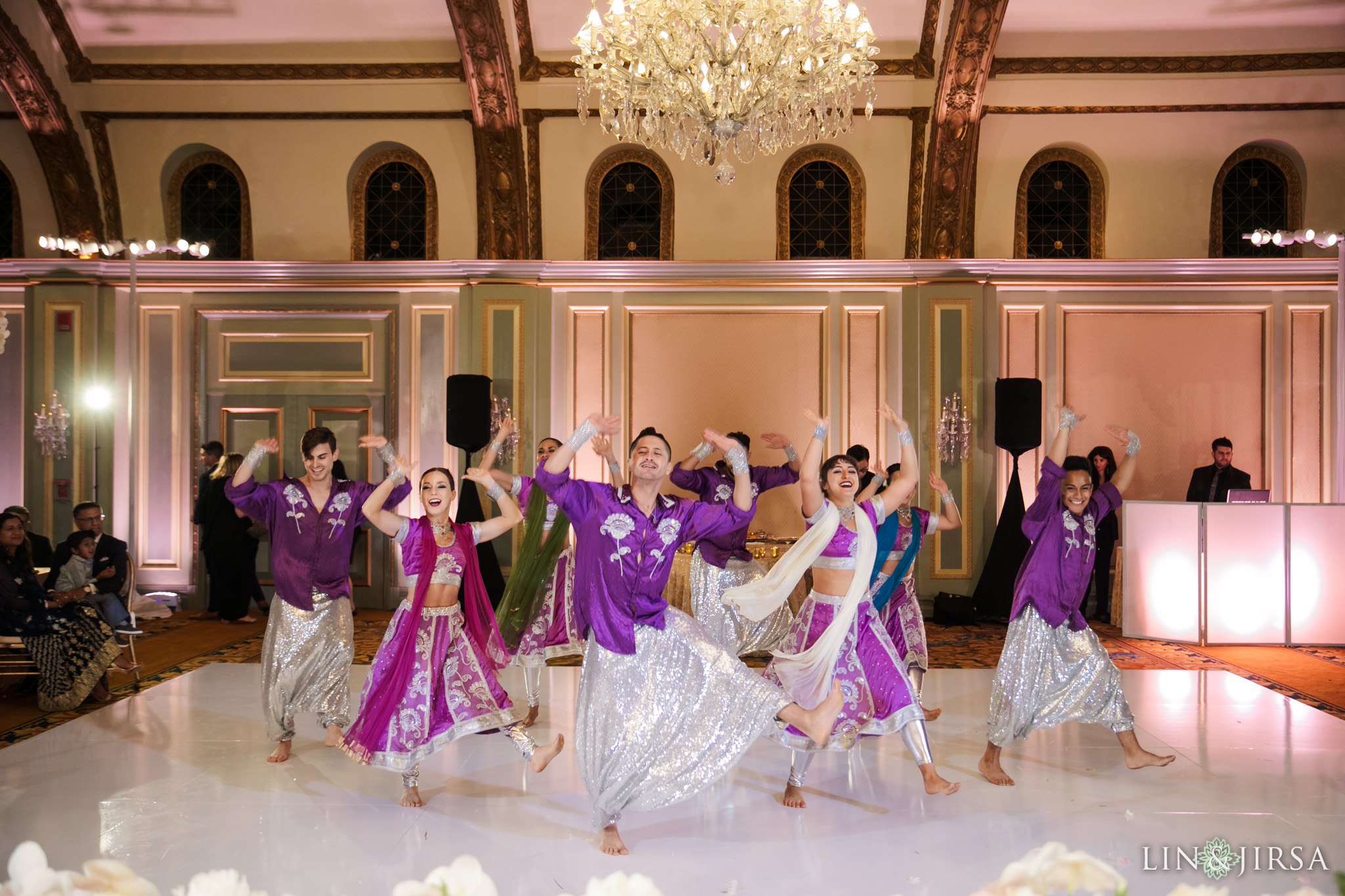 31 Langham Pasadena Multicultural Wedding Photography