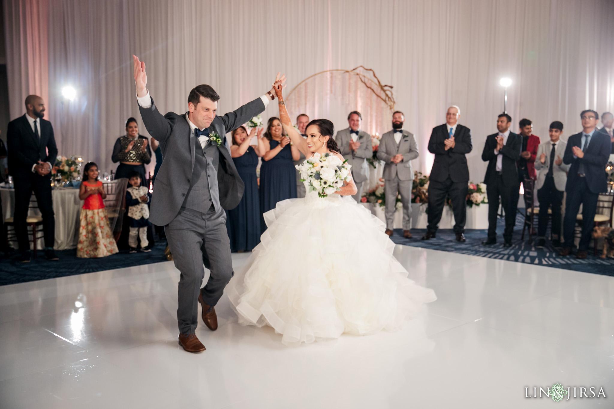 33 The Waterfront Beach Resort Orange County Indian Wedding Photography