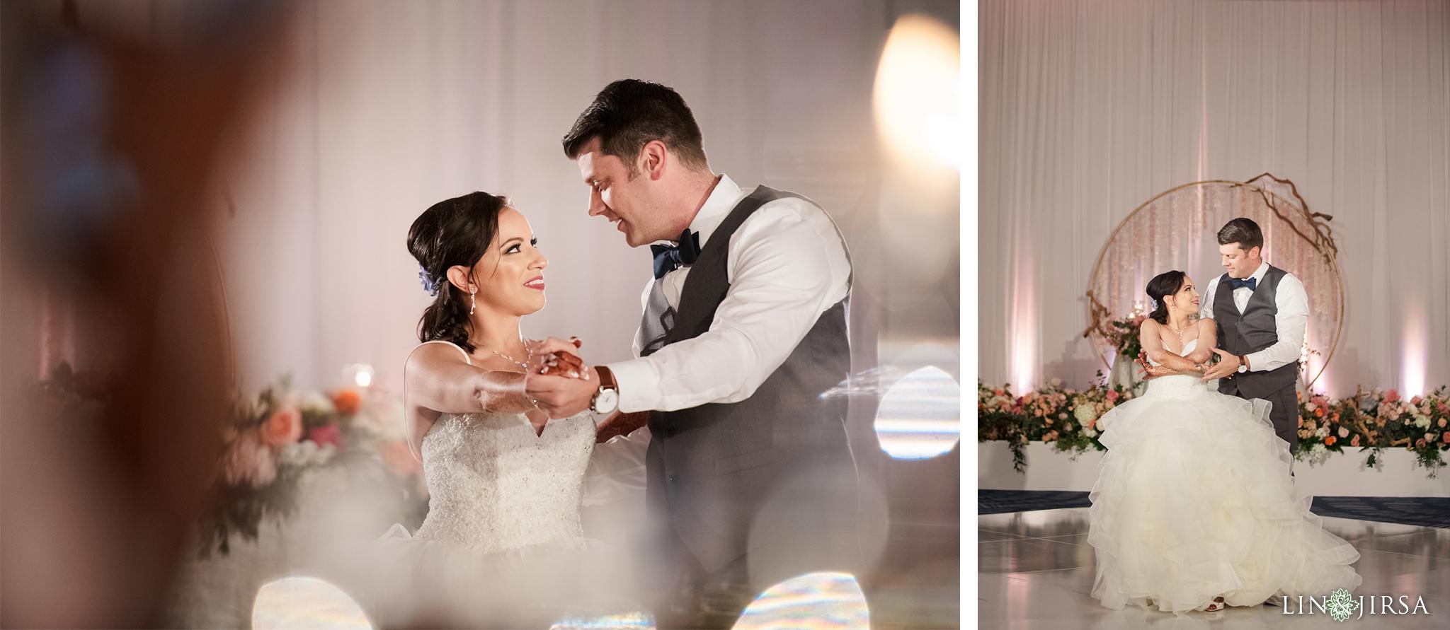 34 The Waterfront Beach Resort Orange County Indian Wedding Photography