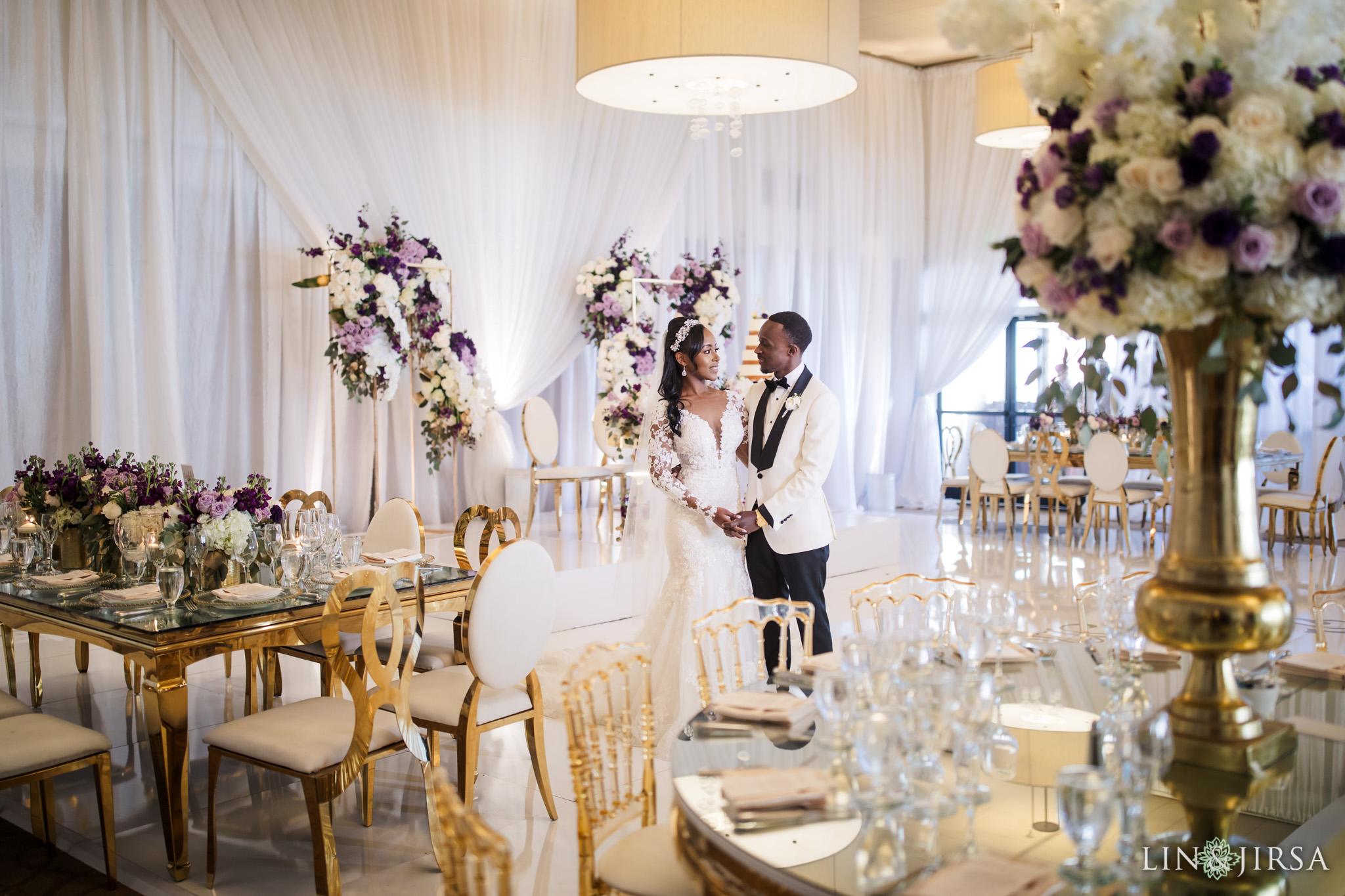 35 Los Verdes Golf Course Palos Verdes Kenyan Wedding Photography