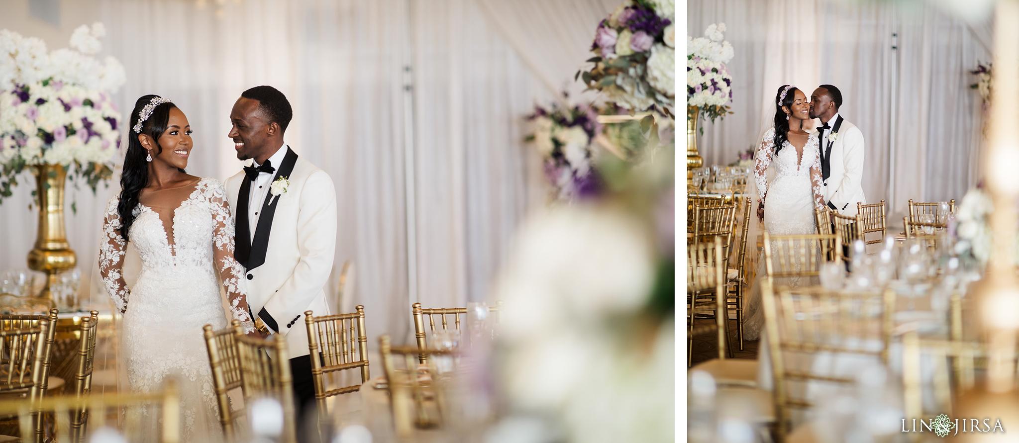 36 Los Verdes Golf Course Palos Verdes Kenyan Wedding Photography