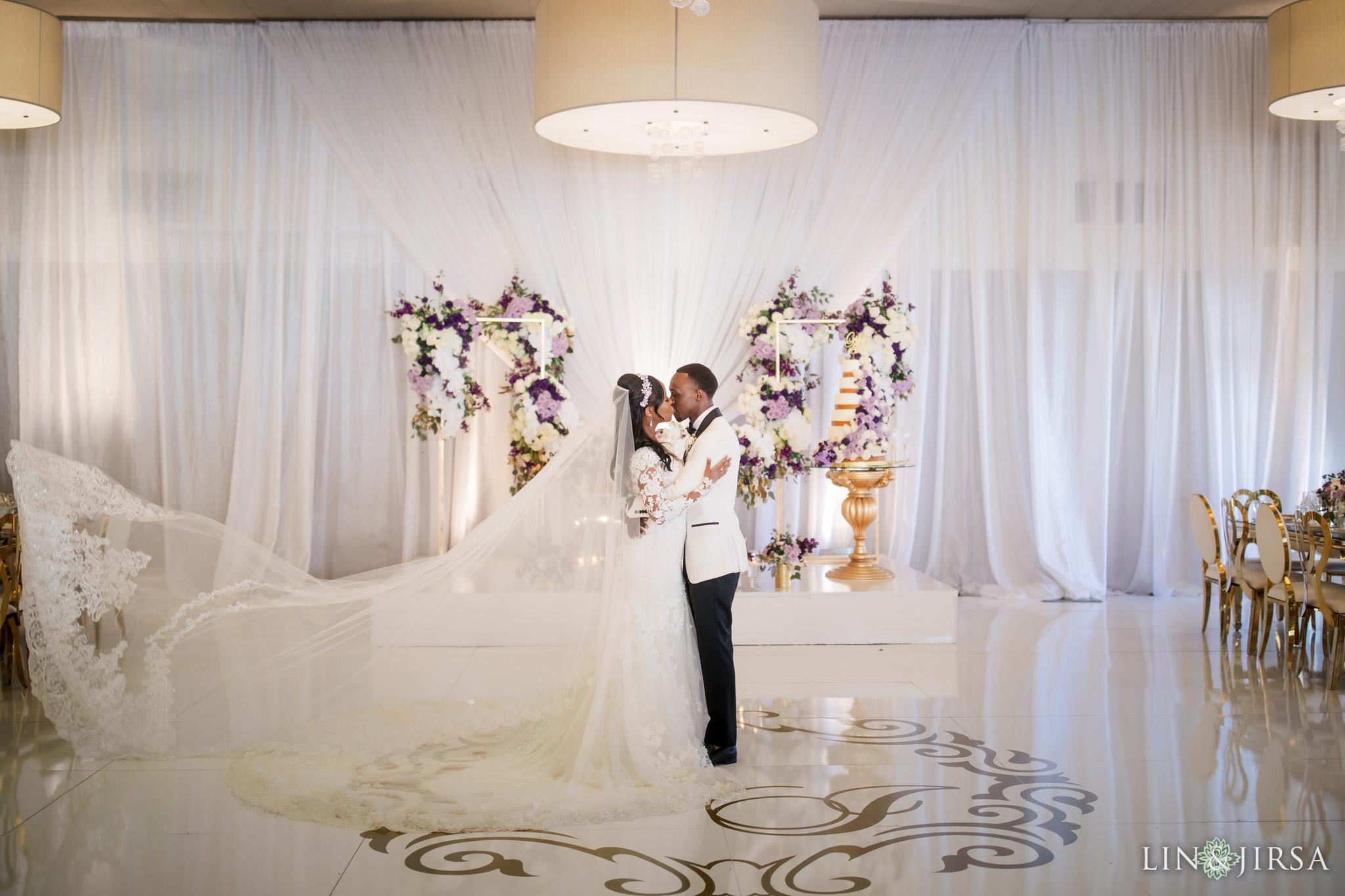 37 Los Verdes Golf Course Palos Verdes Kenyan Wedding Photography