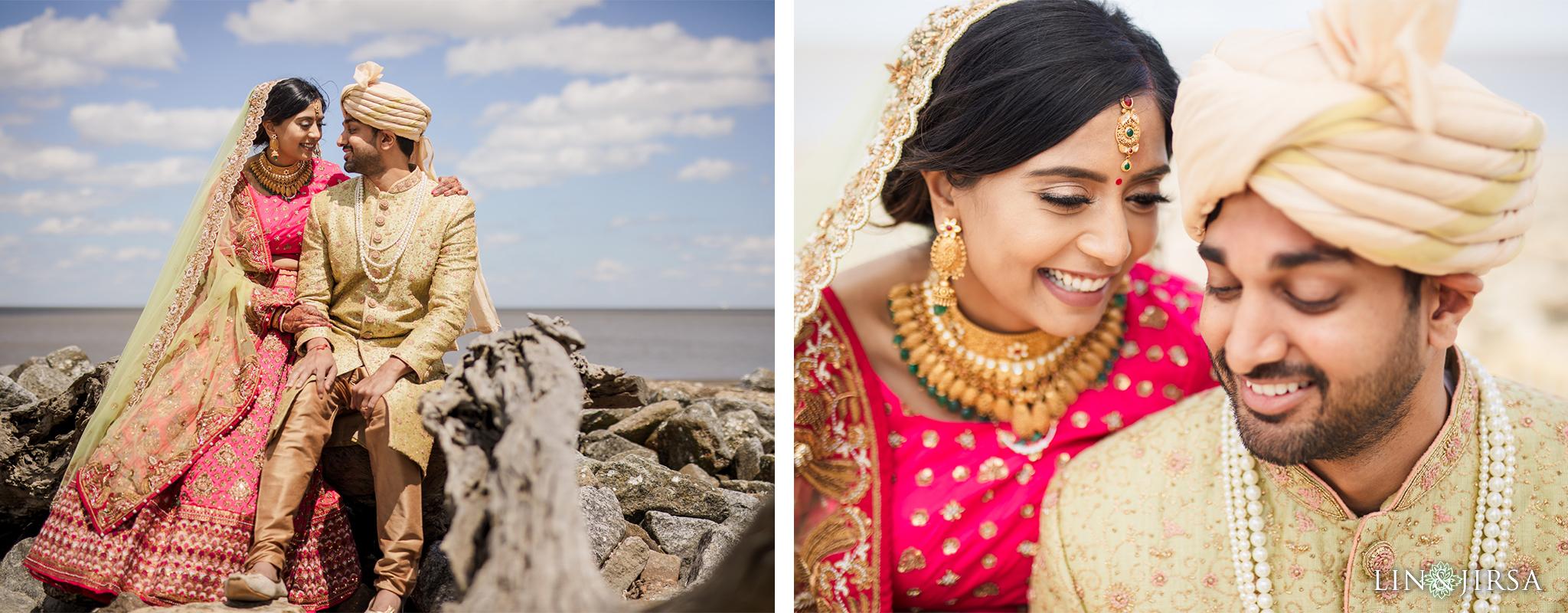 42 Driftwood Beach Jekyll Island Georgia Indian Wedding Photography