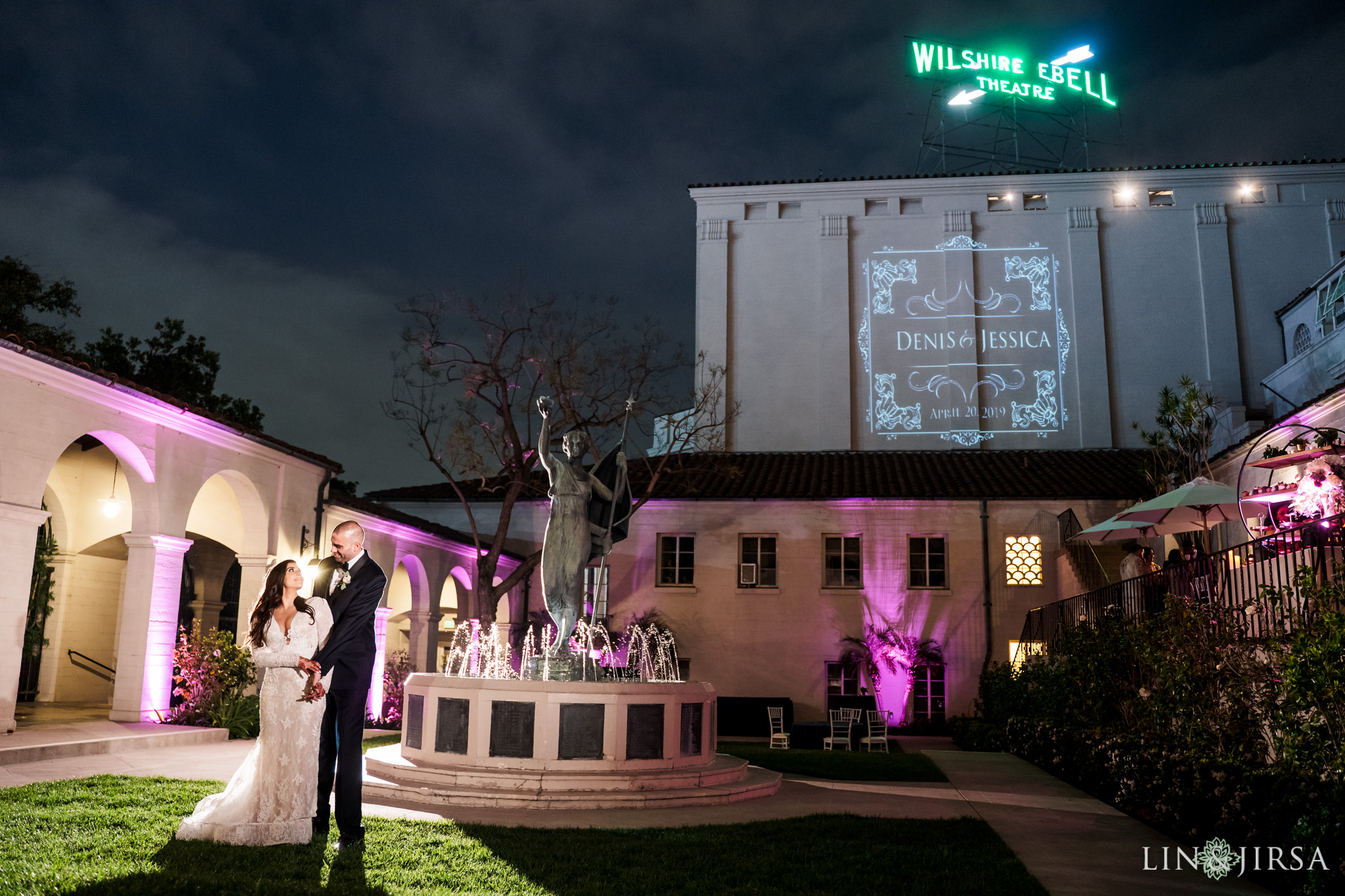 47 The Ebell Los Angeles Multicultural Wedding Photography