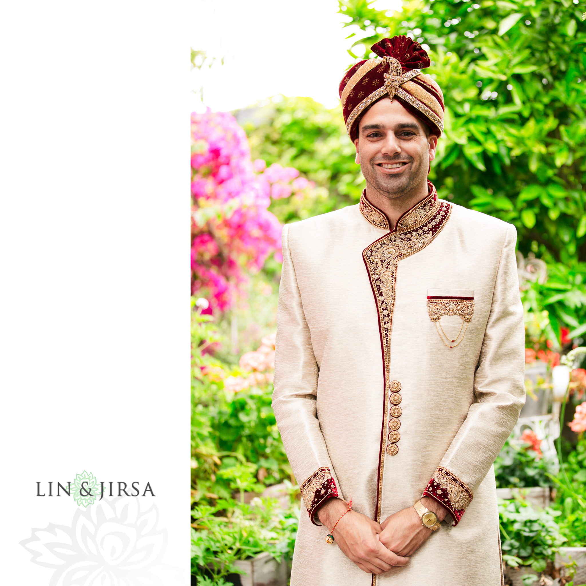 6 The Ebell Los Angeles Groom Indian Wedding Photography