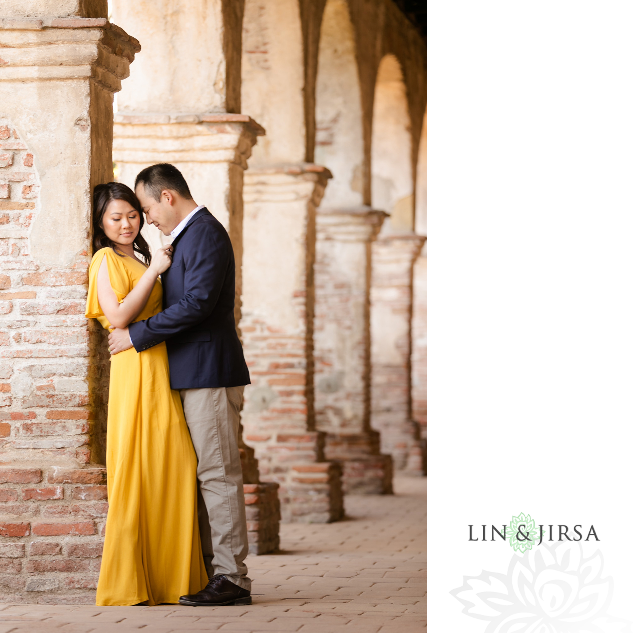7 Mission San Juan Capistrano Engagement Photography