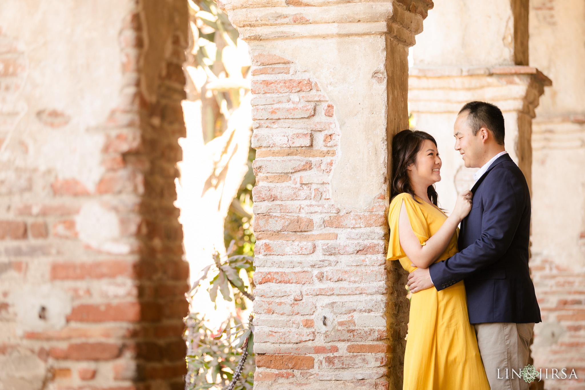 8 Mission San Juan Capistrano Engagement Photography