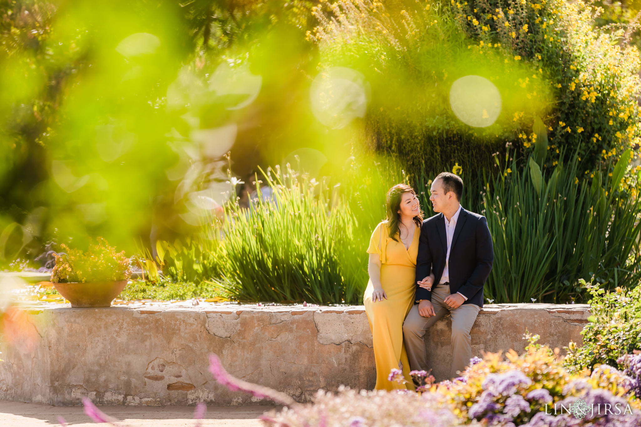 9 Mission San Juan Capistrano Engagement Photography