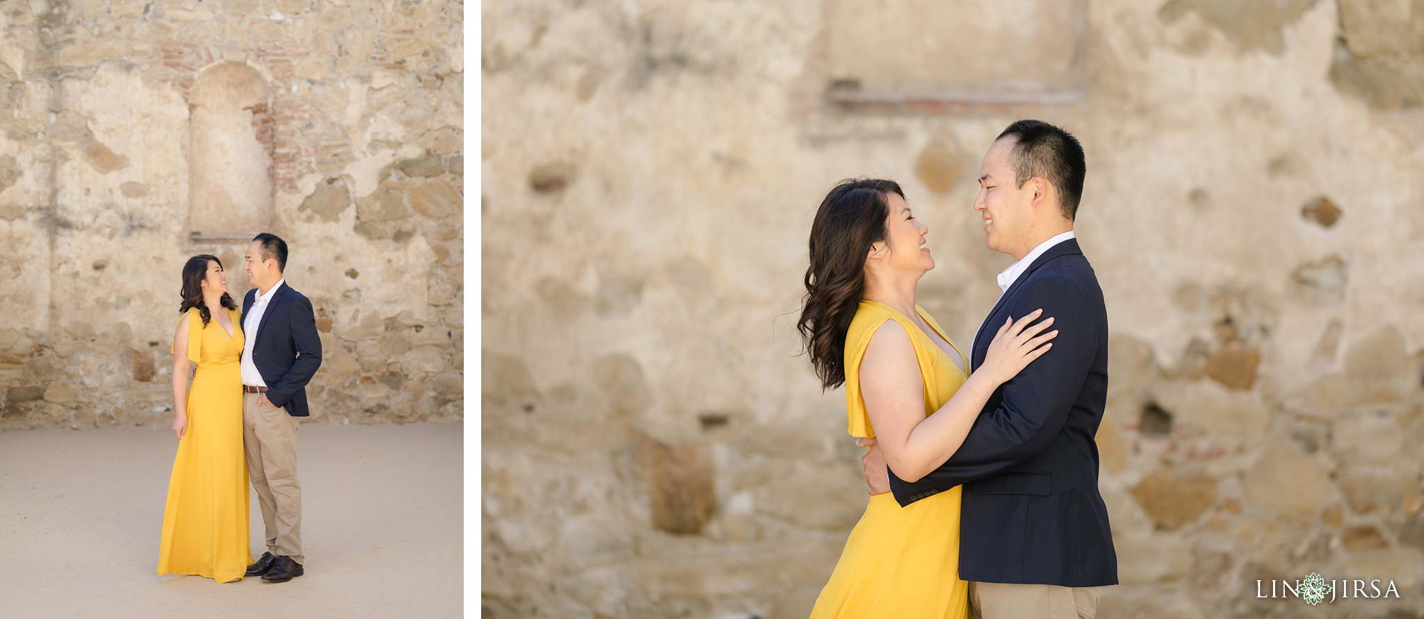 znc Mission San Juan Capistrano Engagement Photography