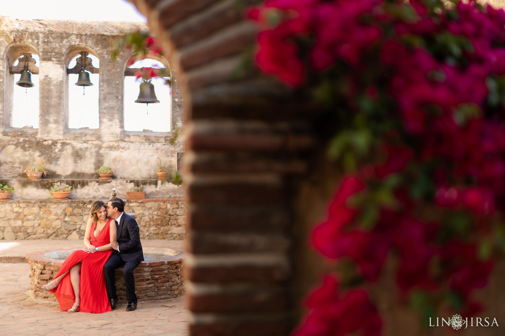 zsr San Juan Capistrano Mission Engagement Photography