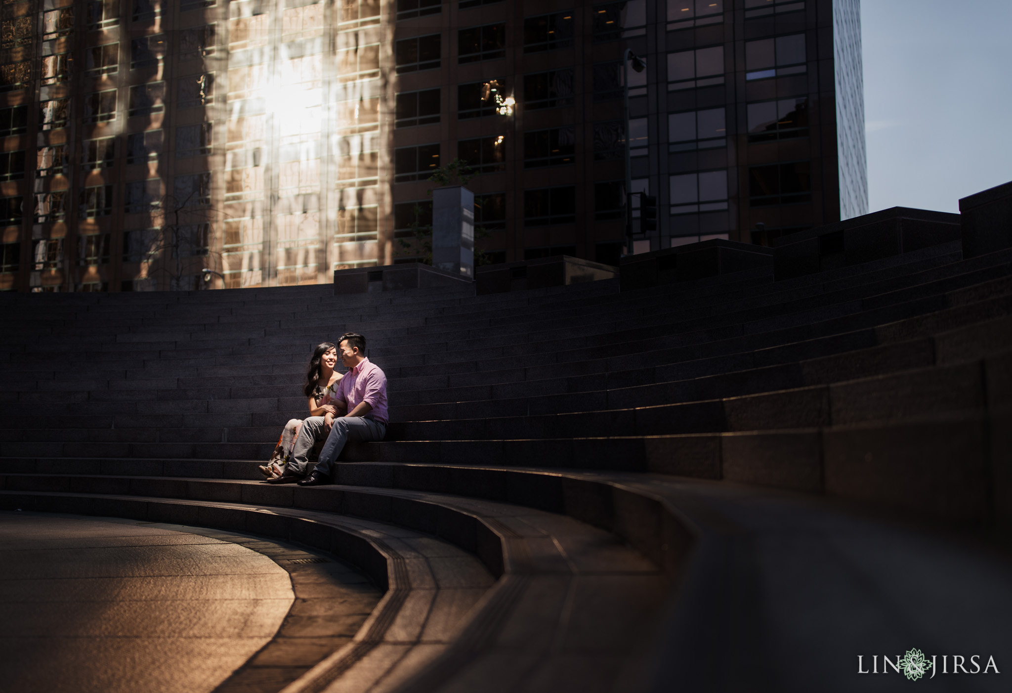 07 Downtown Los Angeles Engagement Photography