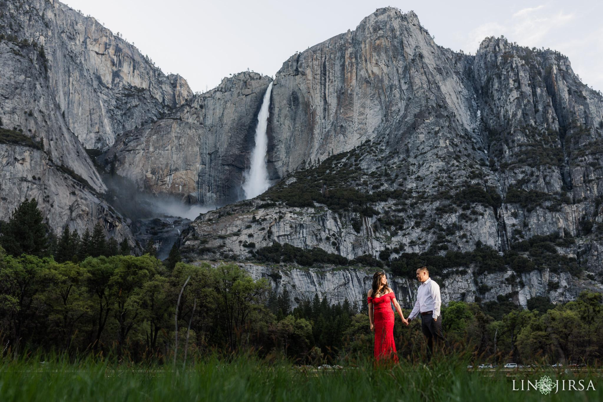 10 Yosemite National Park Waterfall Nature Engagement Photography
