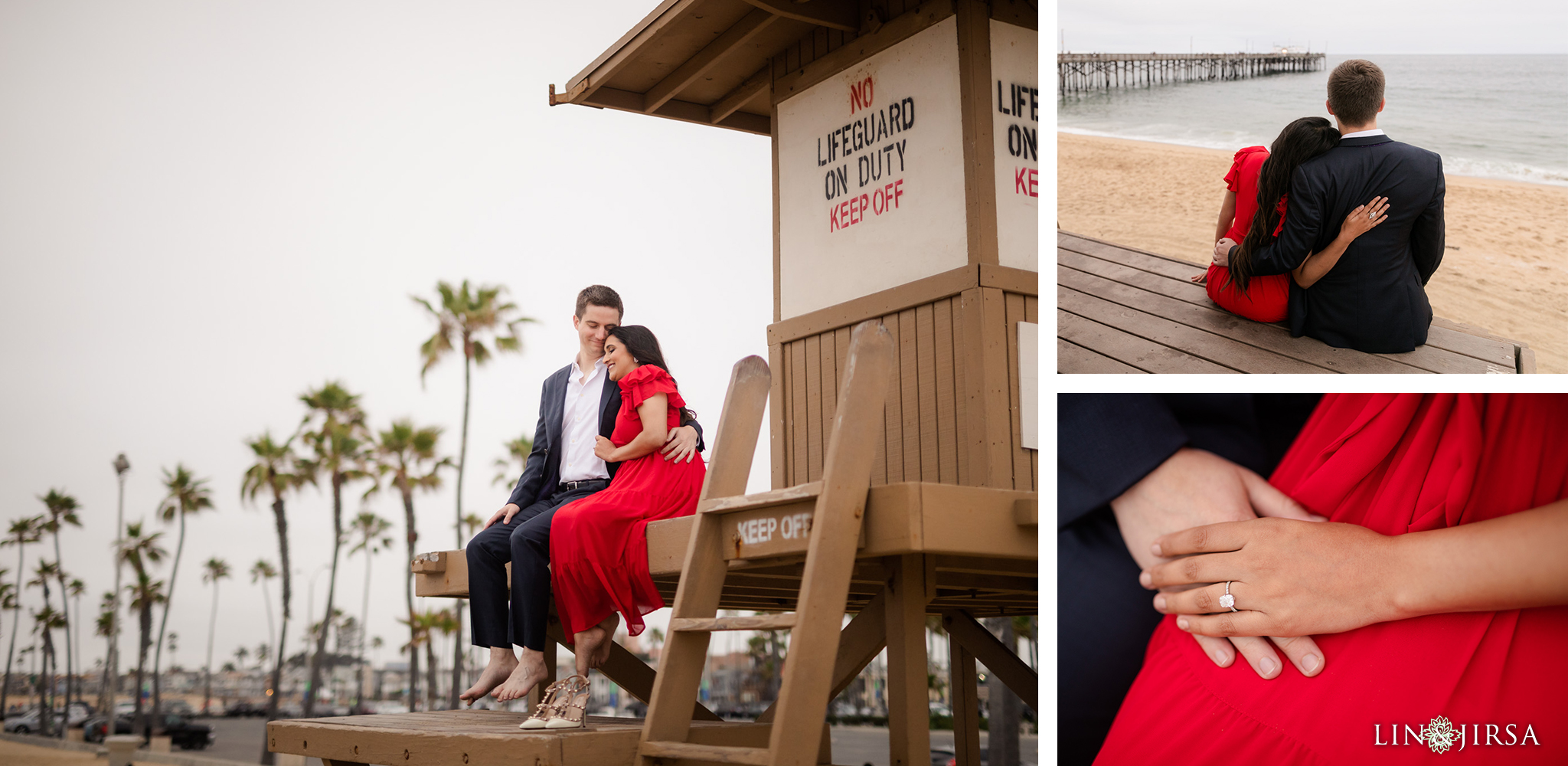 12 Newport Beach Orange County Engagement Photographer