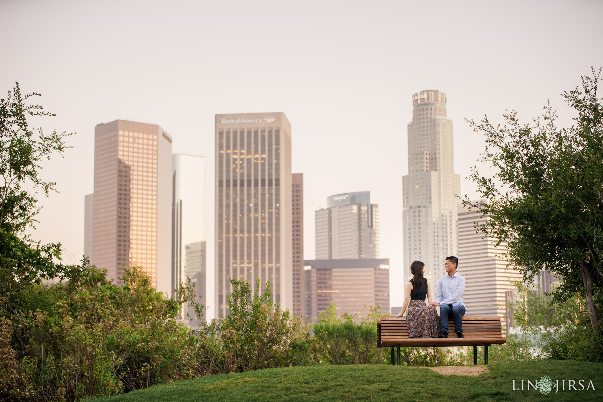 12 Vista Hermosa Natural Park Los Angeles Engagement Photography