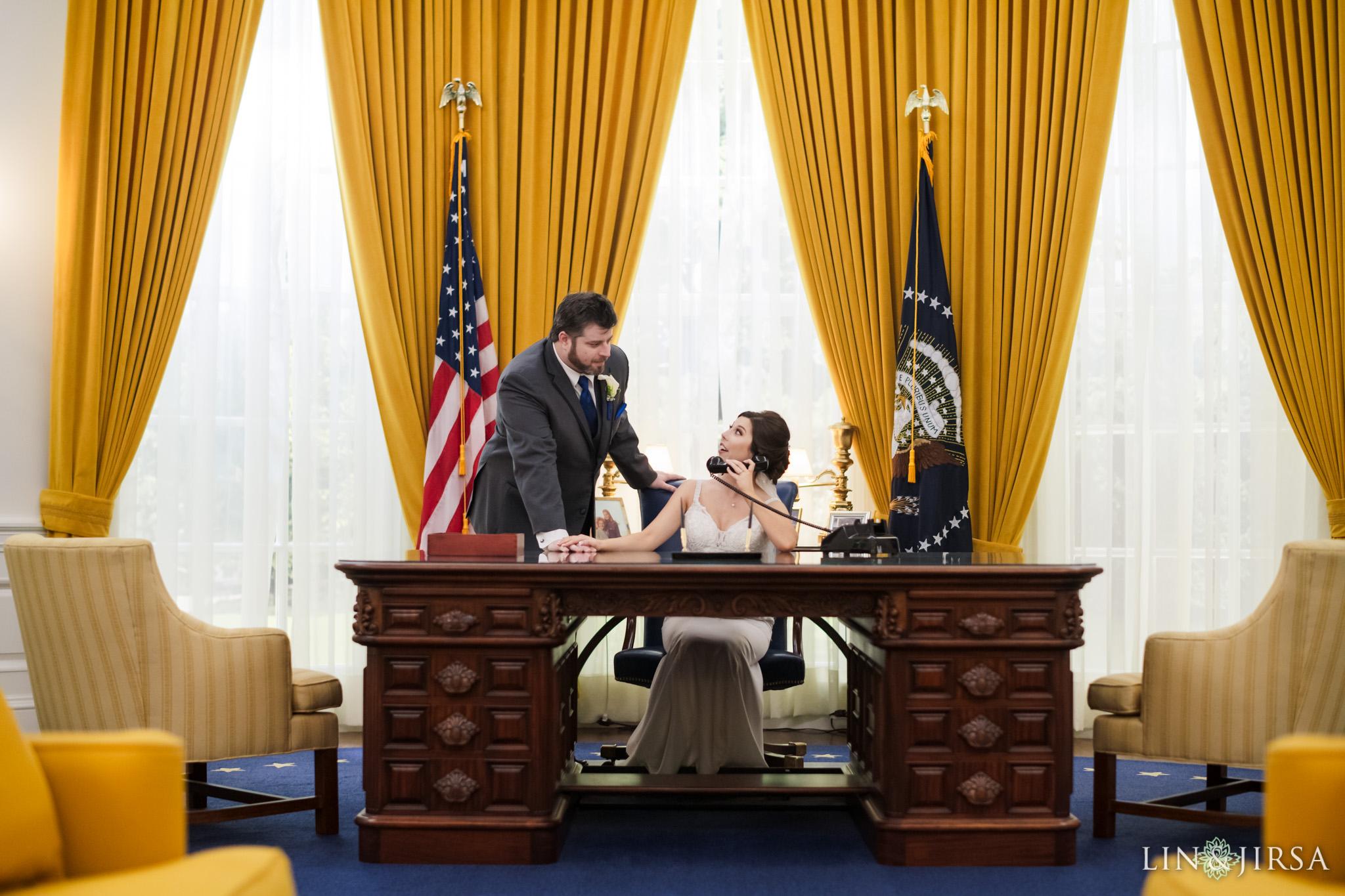 14 Richard Nixon Library Wedding Photographer