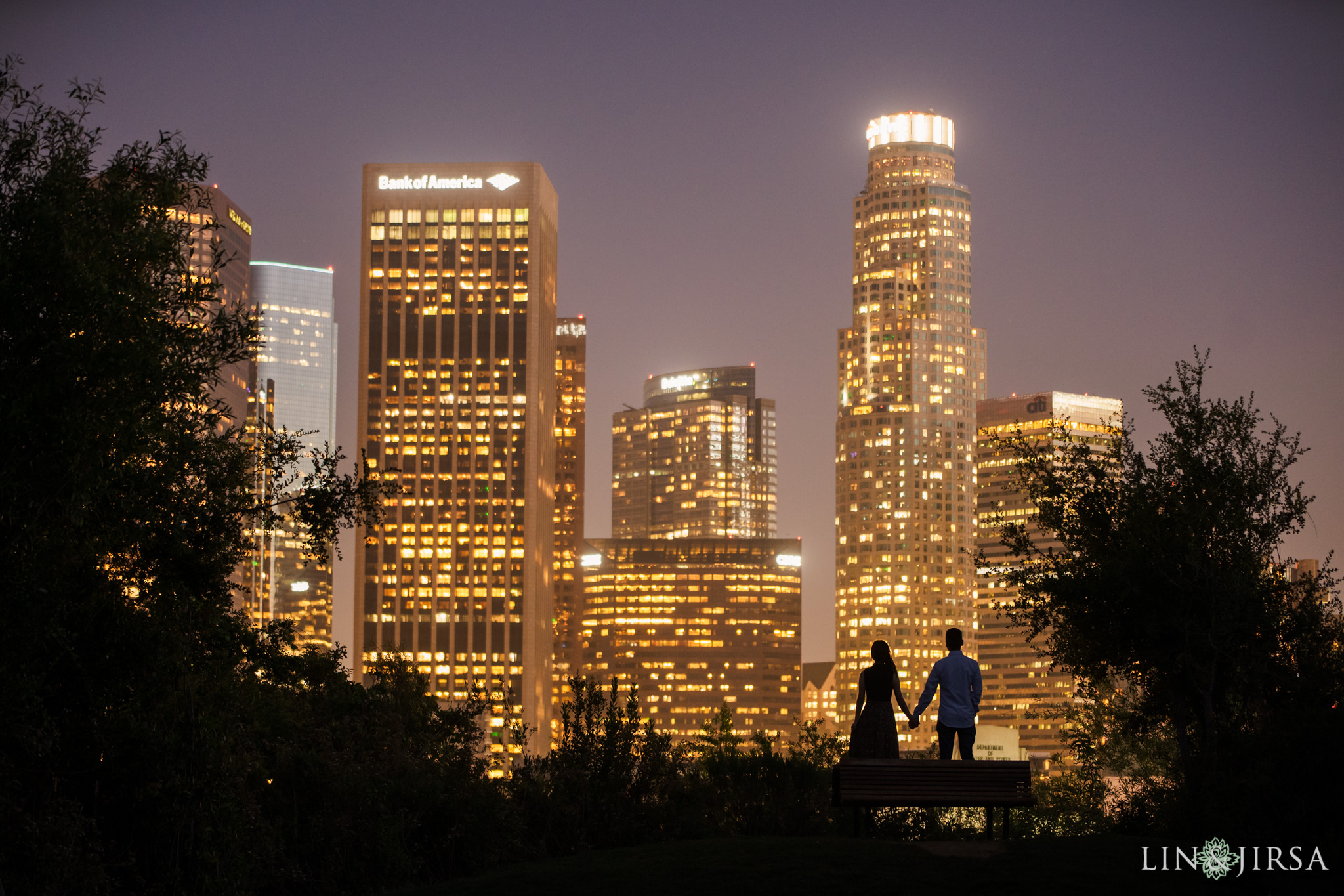 14 Vista Hermosa Natural Park Los Angeles Engagement Photography