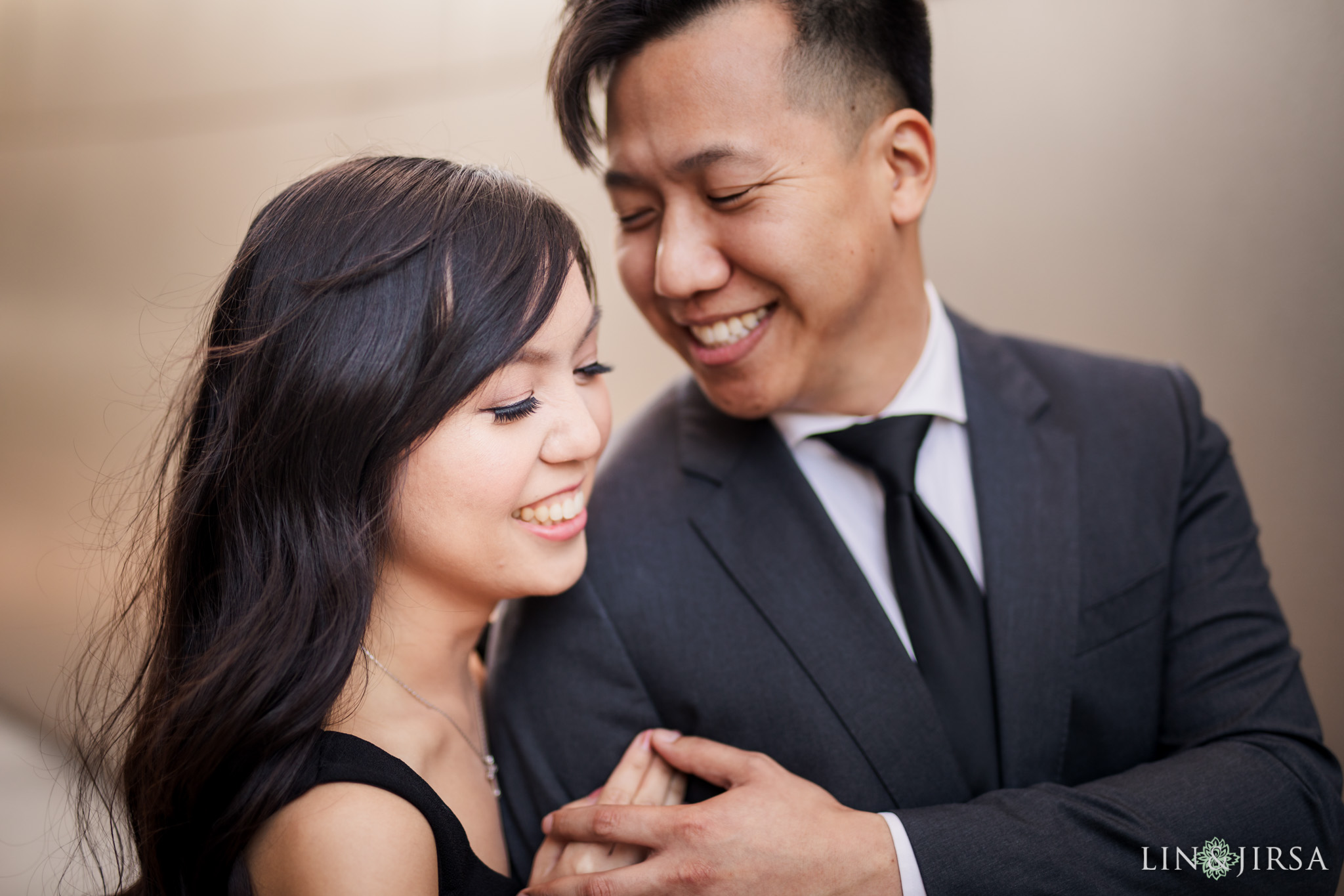 16 Downtown Los Angeles Engagement Photography