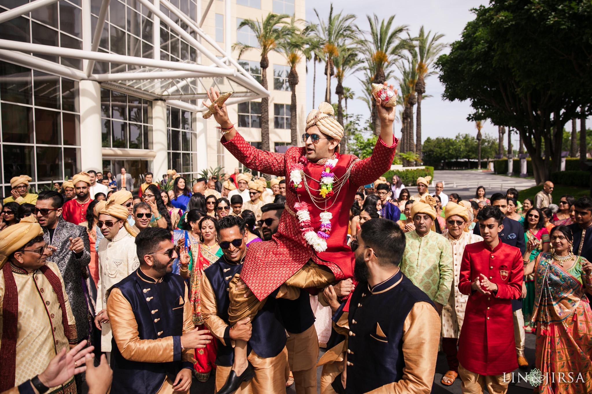 16 Hyatt Regency Orange County Indian Wedding Photography