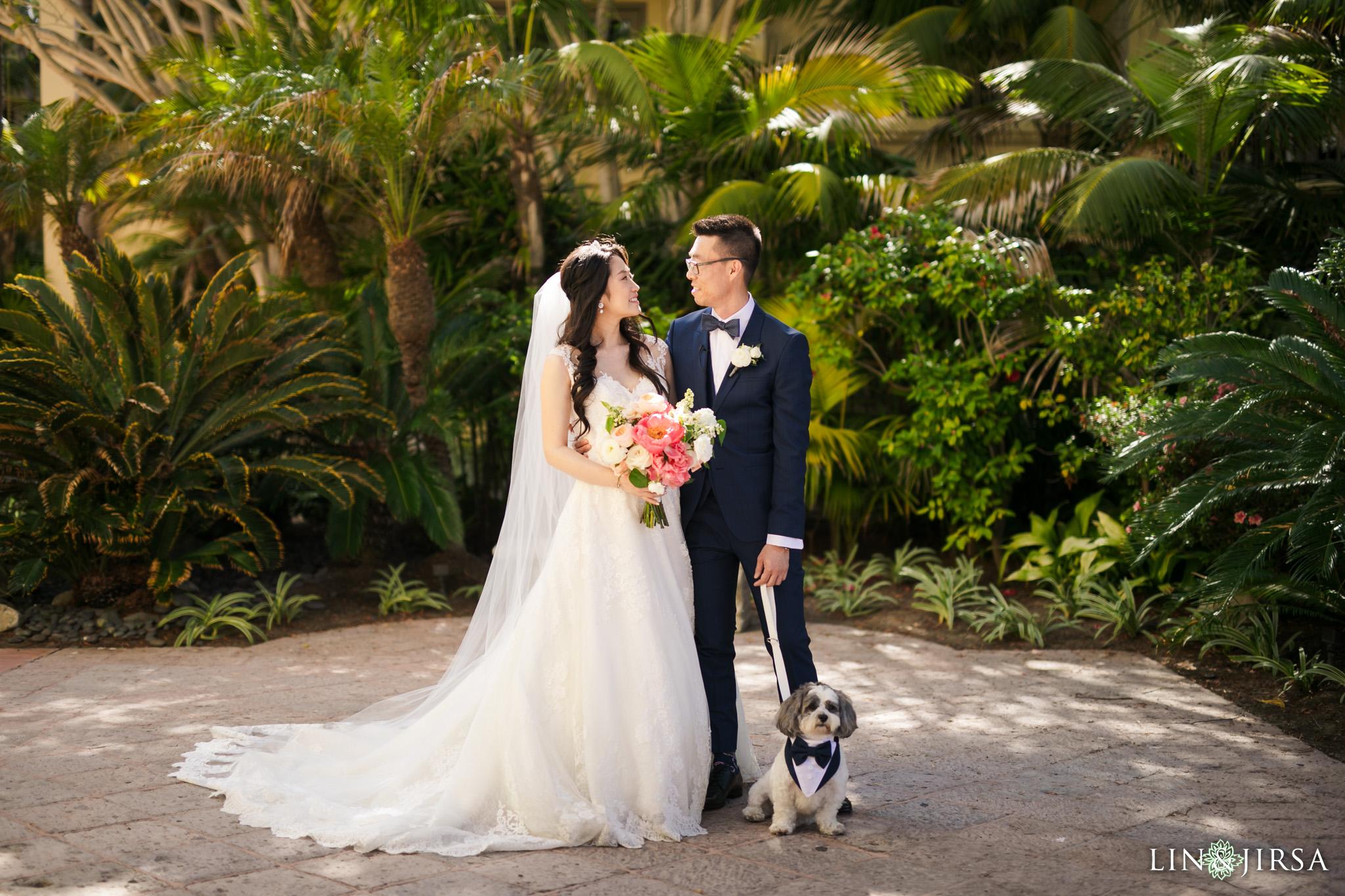 16 Ritz Carlton Laguna Niguel Dog Wedding Photography