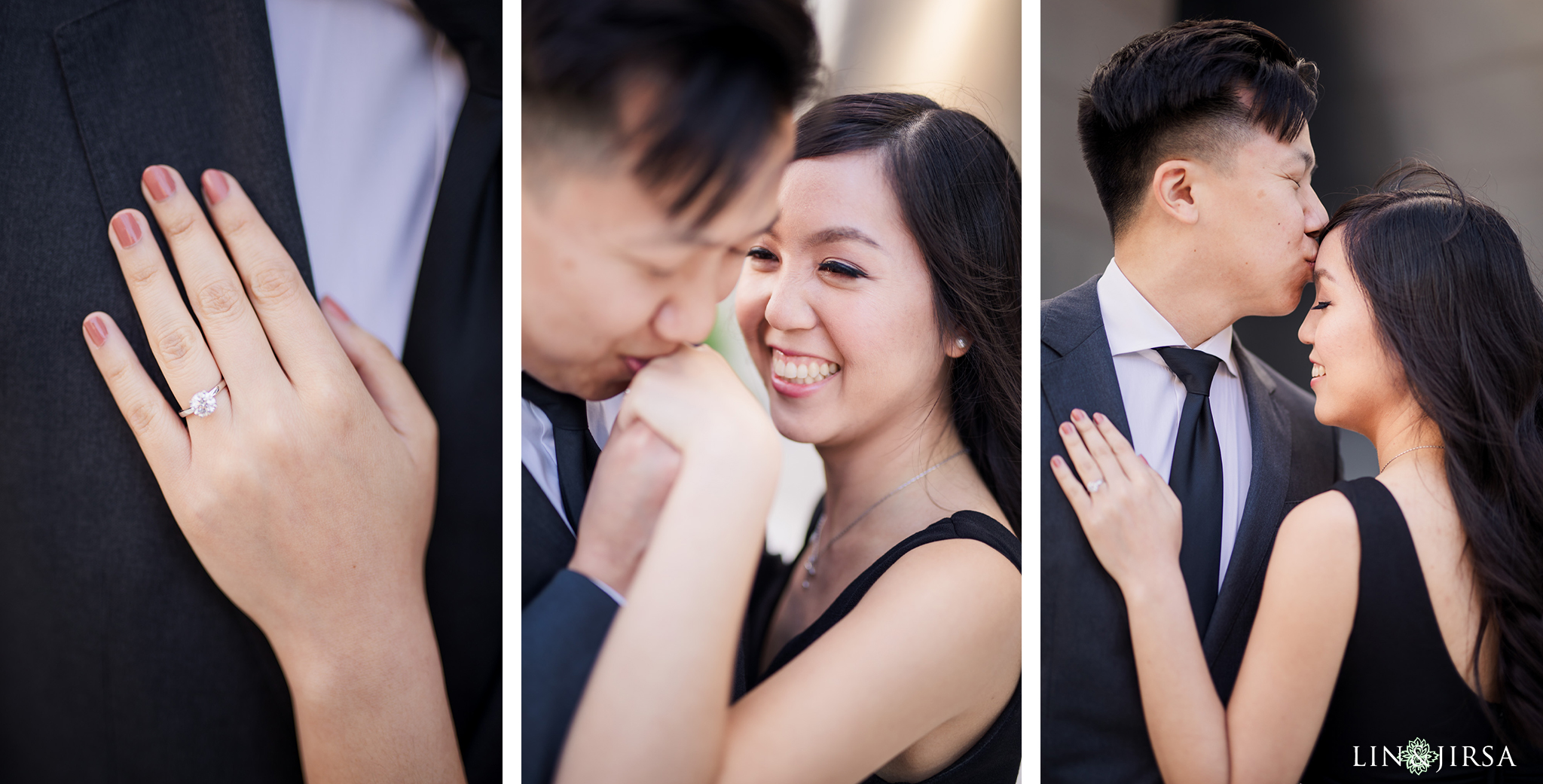 17 Downtown Los Angeles Engagement Photography