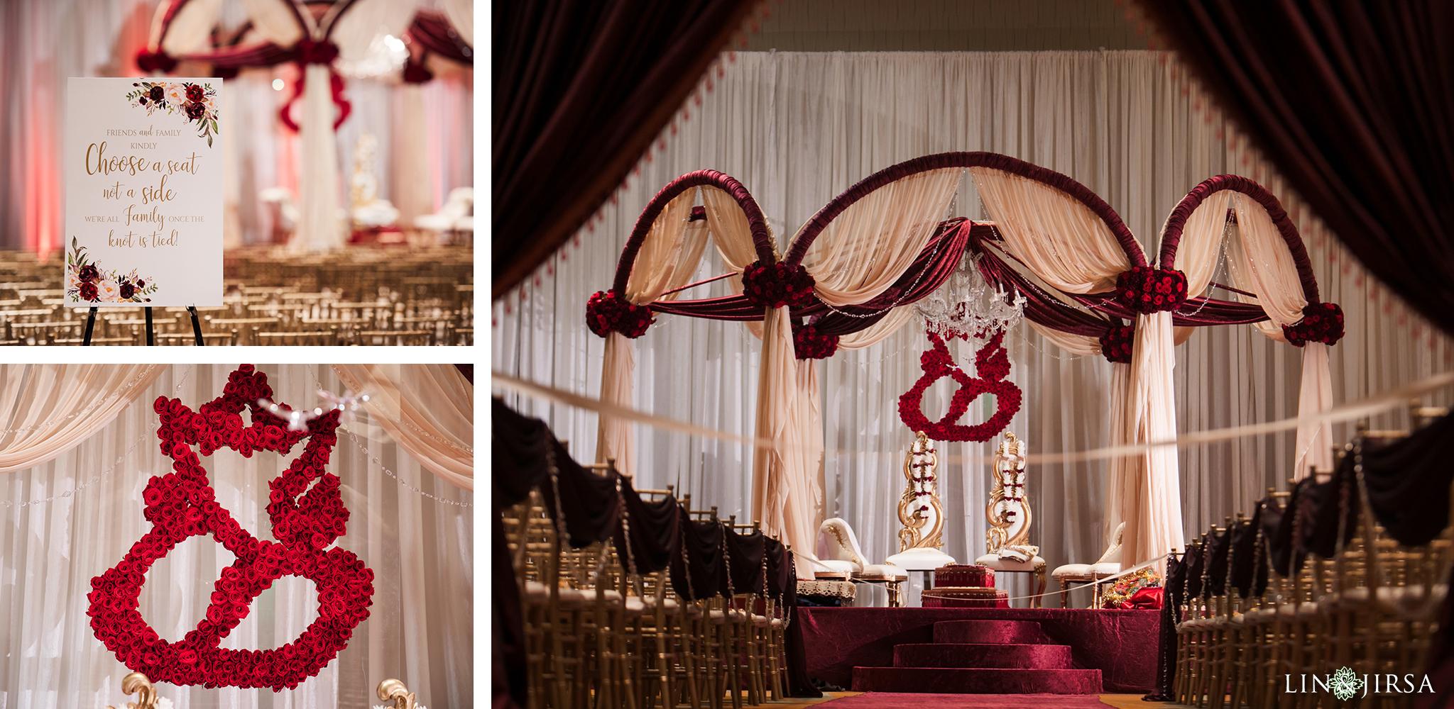 20 Hyatt Regency Orange County Indian Wedding Photography
