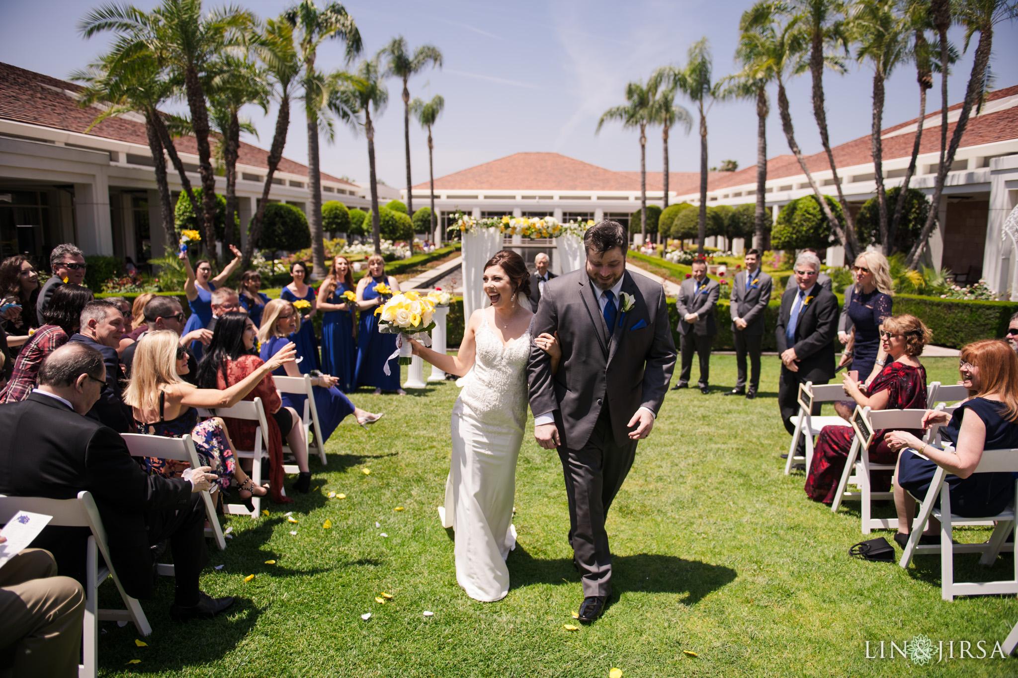 21 Richard Nixon Library Wedding Photographer