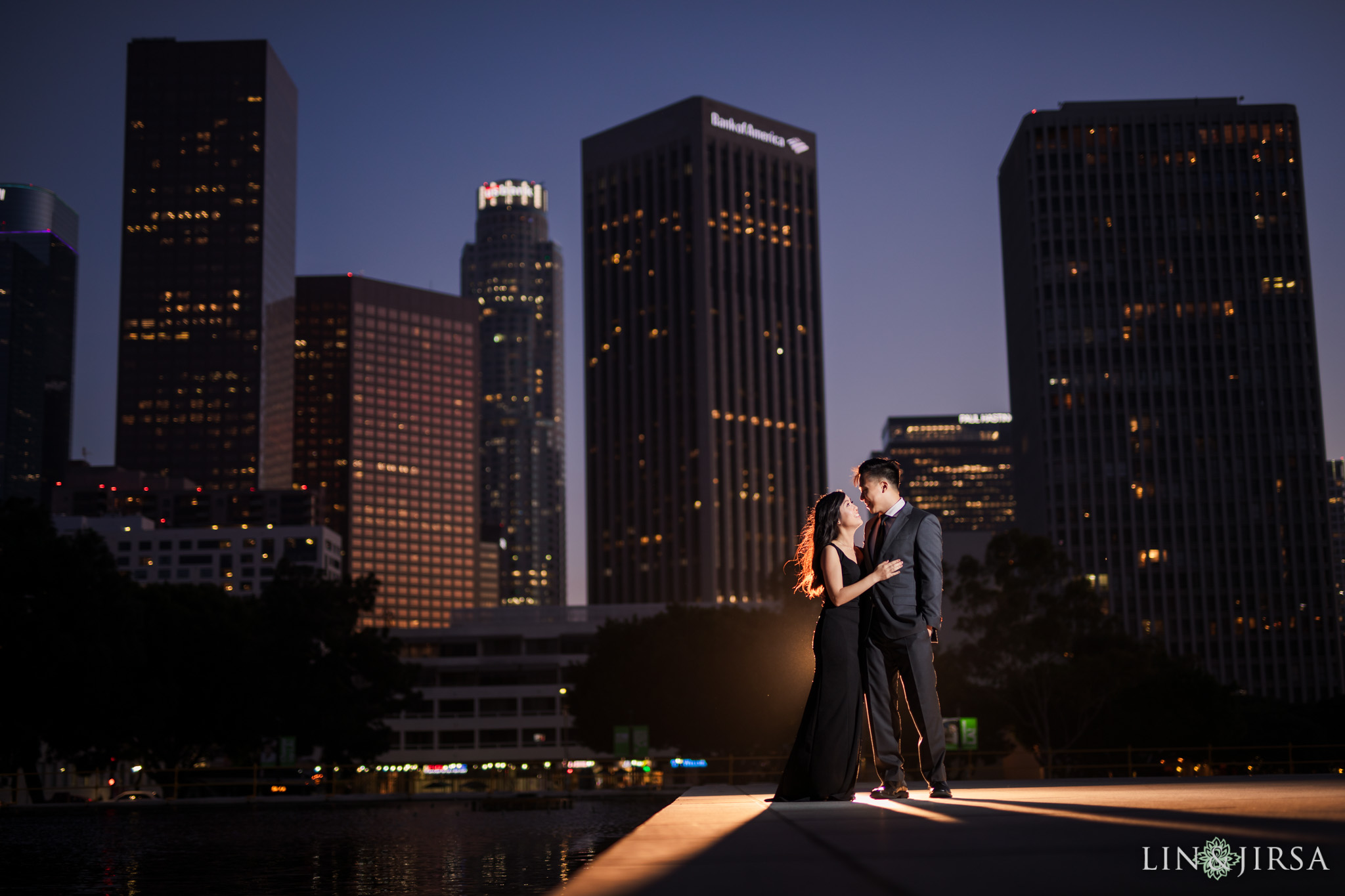 22 Downtown Los Angeles Engagement Photography