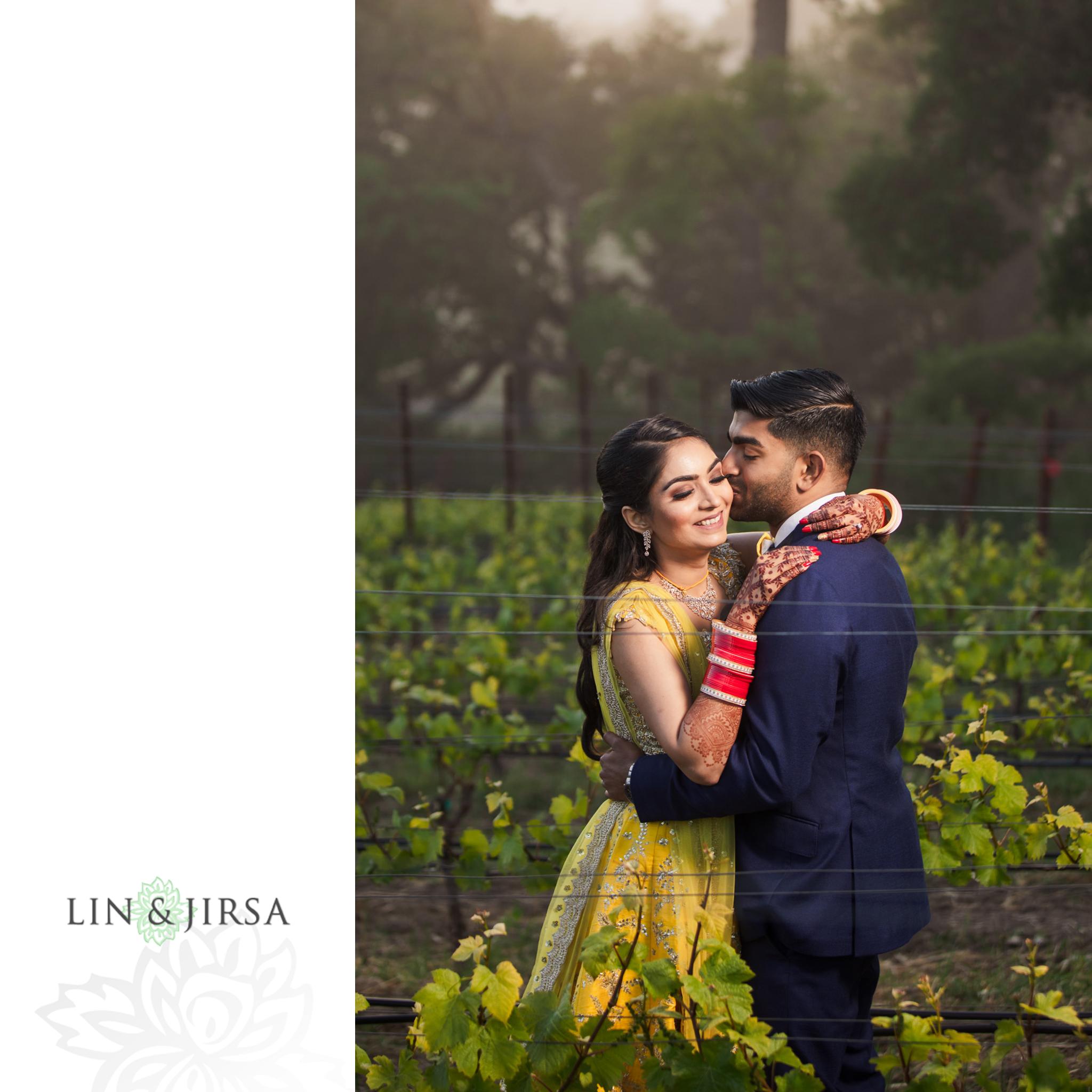 34 Thomas Fogarty Winery San Jose Indian Wedding Photography