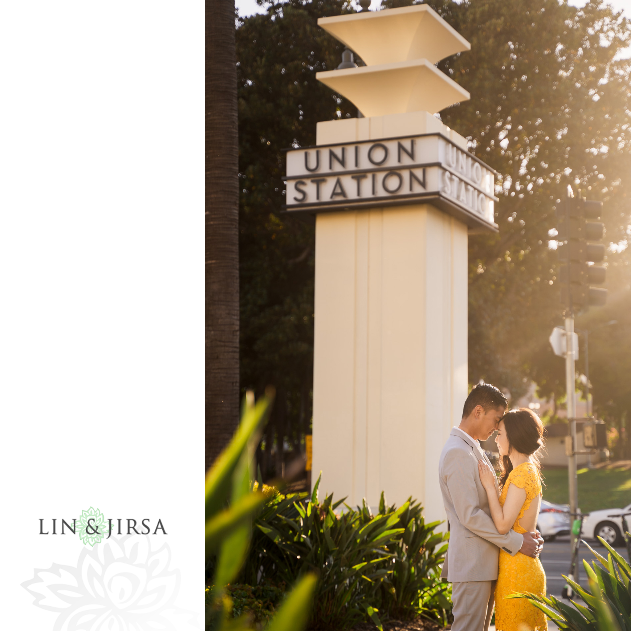 zjg Union Station Los Angeles Engagement Photography
