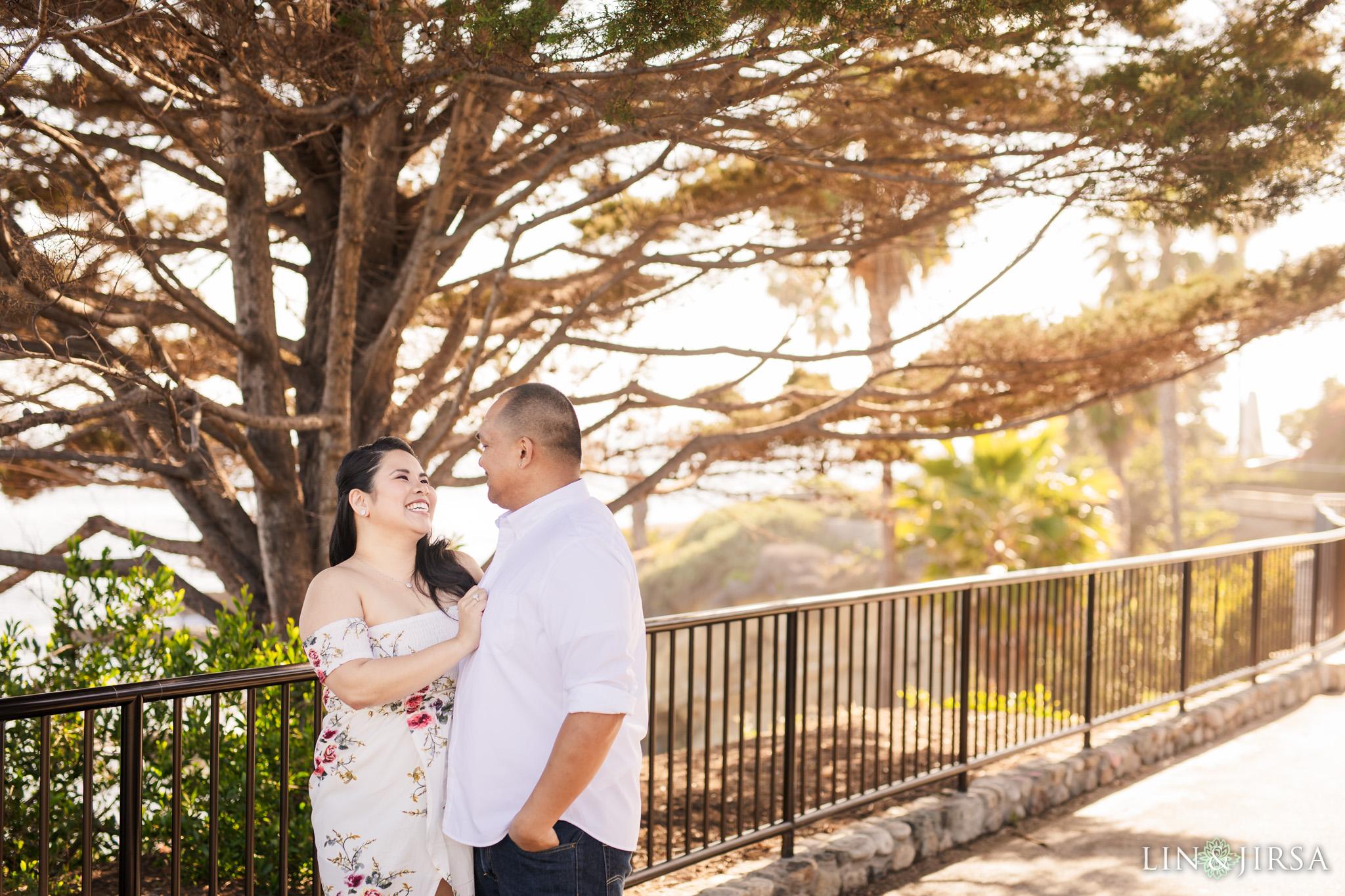 zls Heisler Park Orange County Engagement Photographer