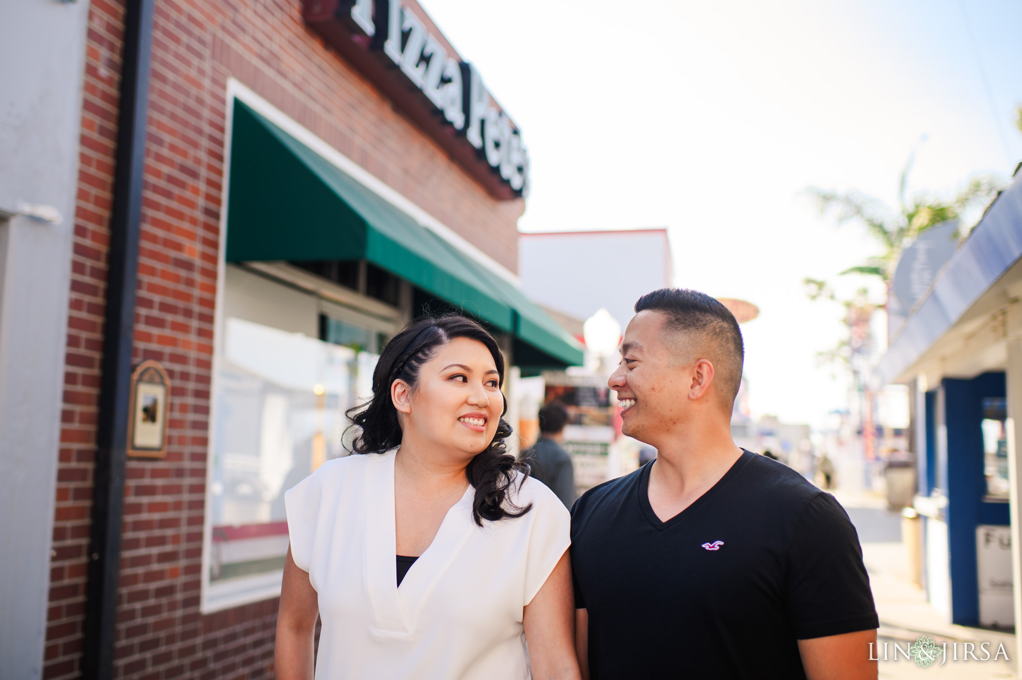 znb Balboa Fun Zone Orange County Engagement Photography