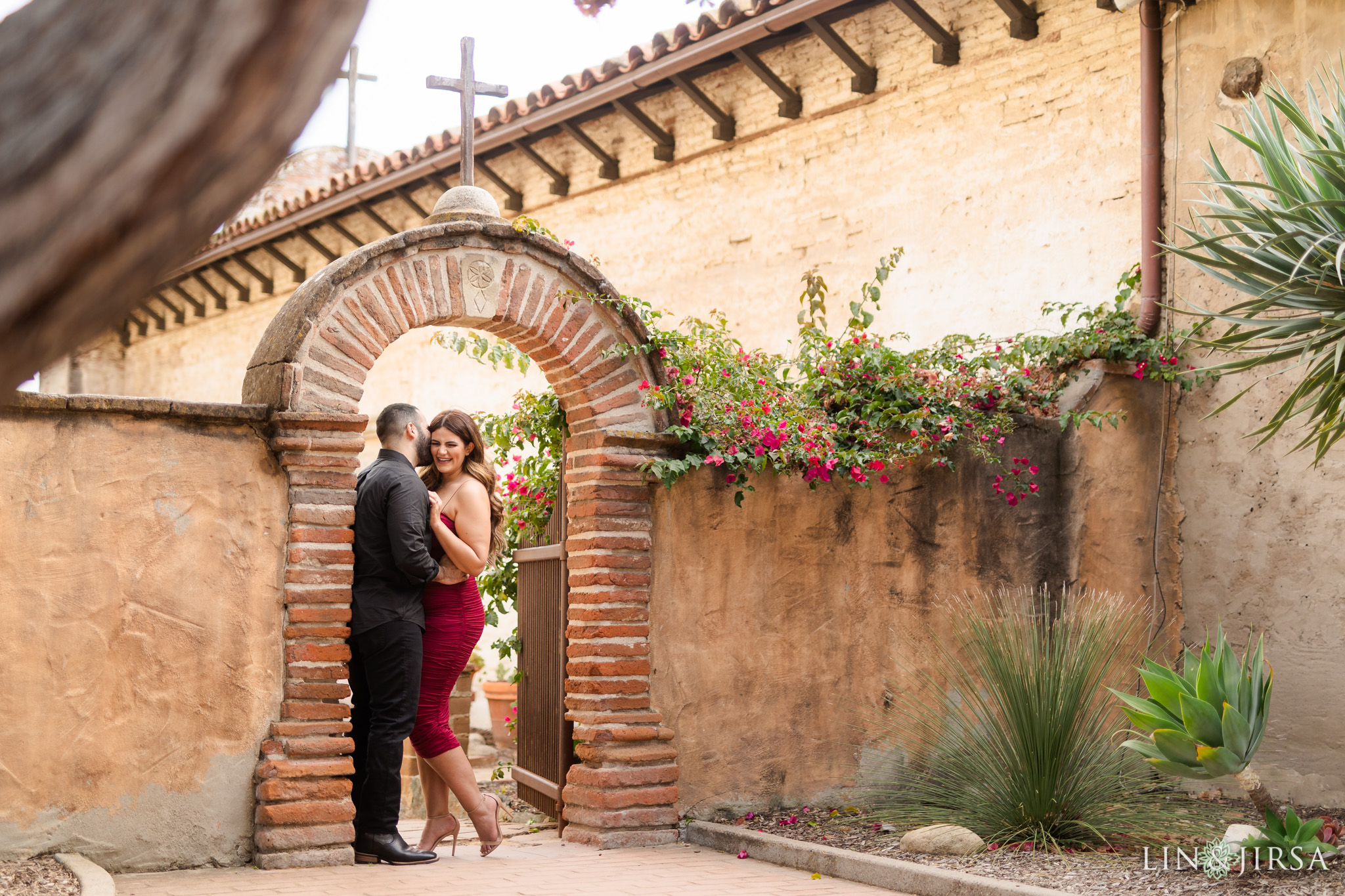 05 Mission San Juan Capistrano Orange County Engagement Photography