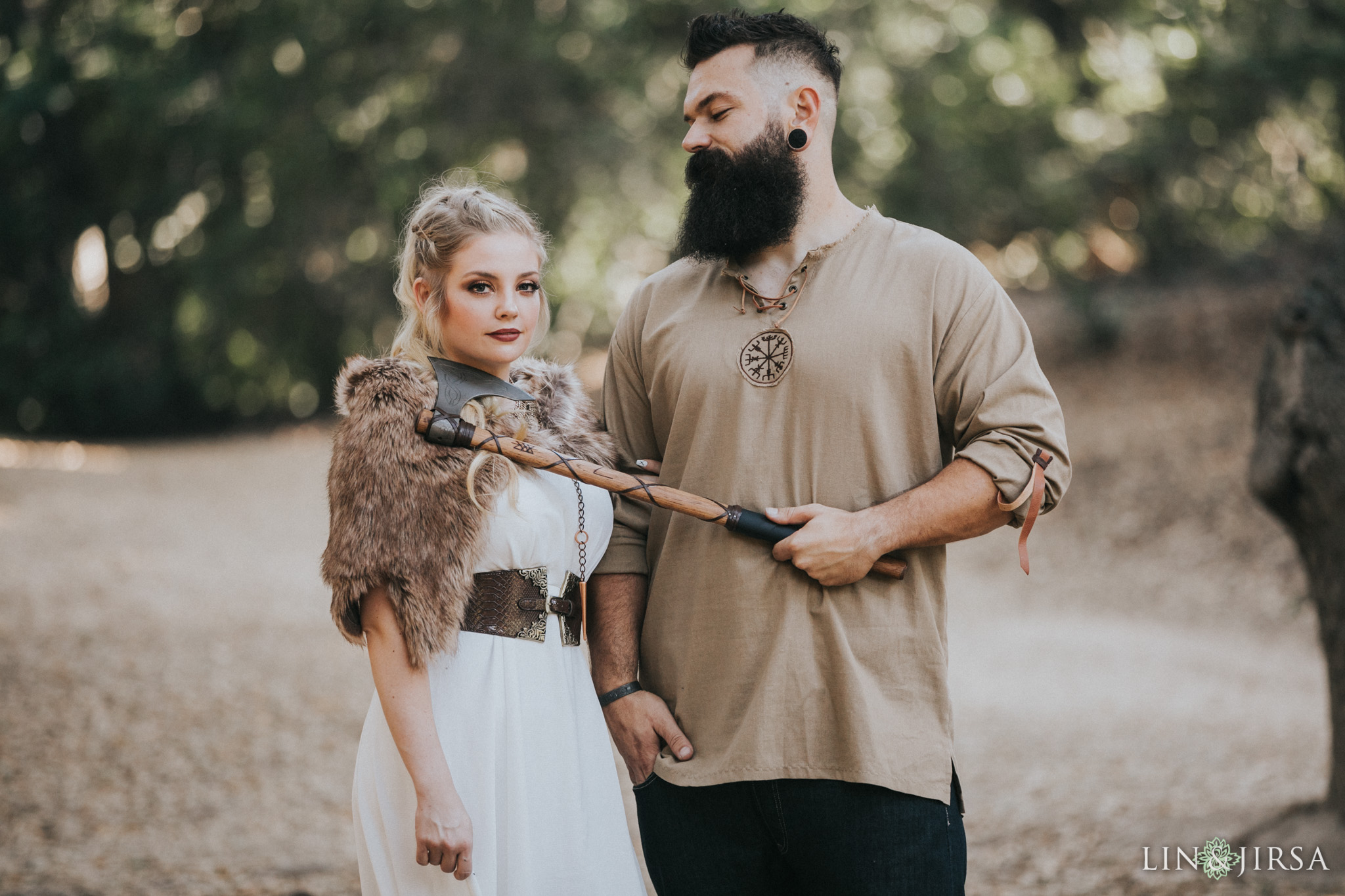 05 Oak Canyon Nature Center Orange County Game of Thrones Engagement Photography