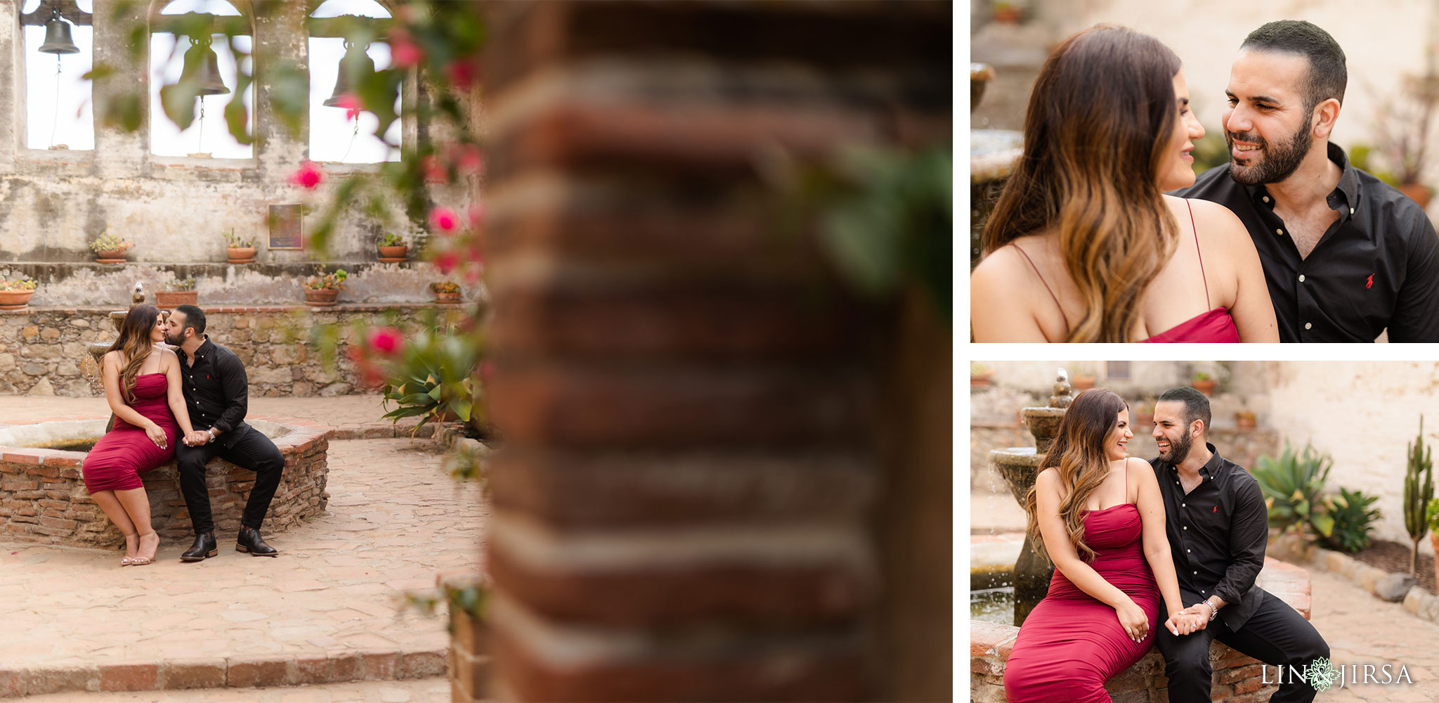 06 Mission San Juan Capistrano Orange County Engagement Photography