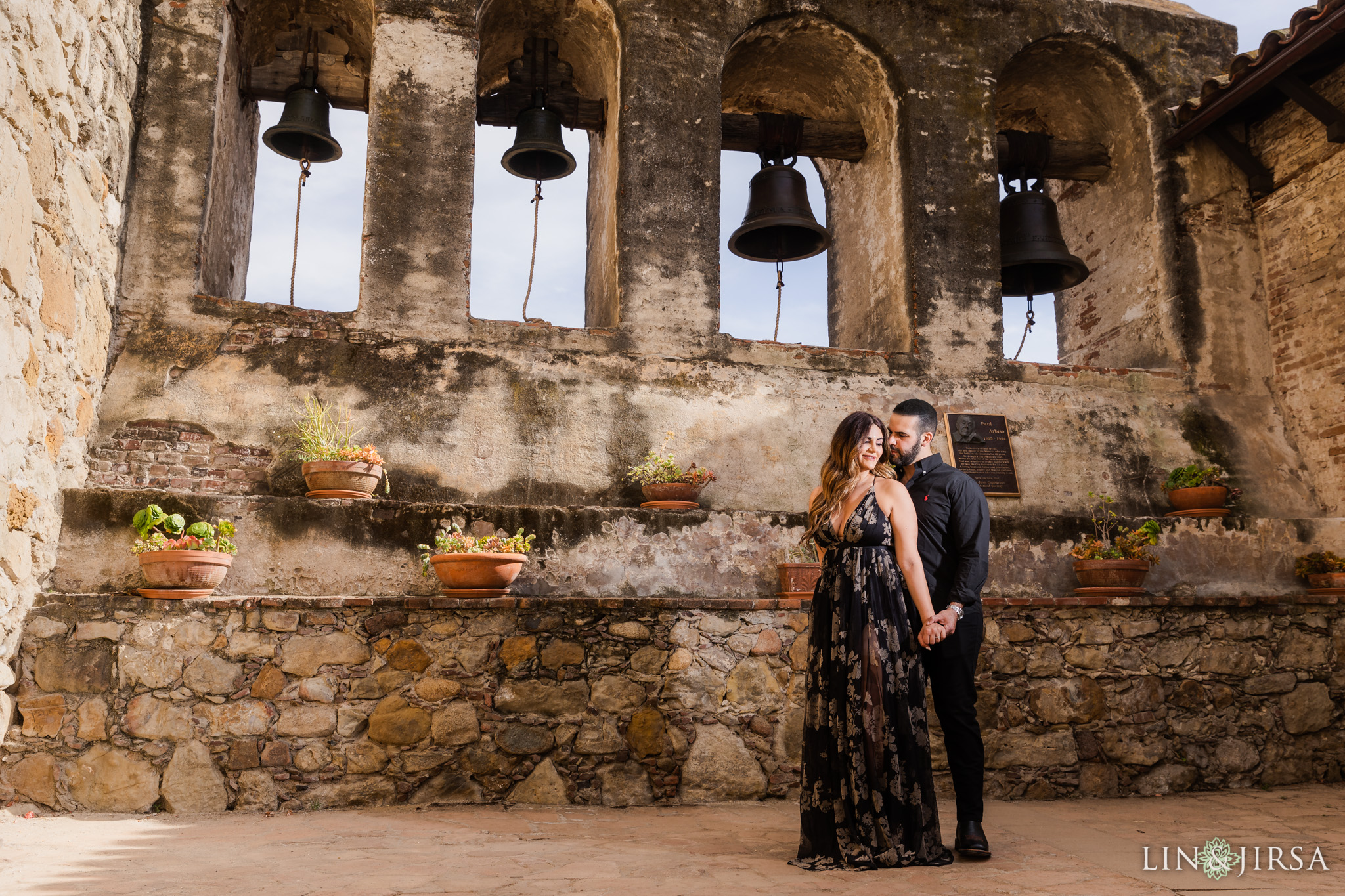 07 Mission San Juan Capistrano Orange County Engagement Photography