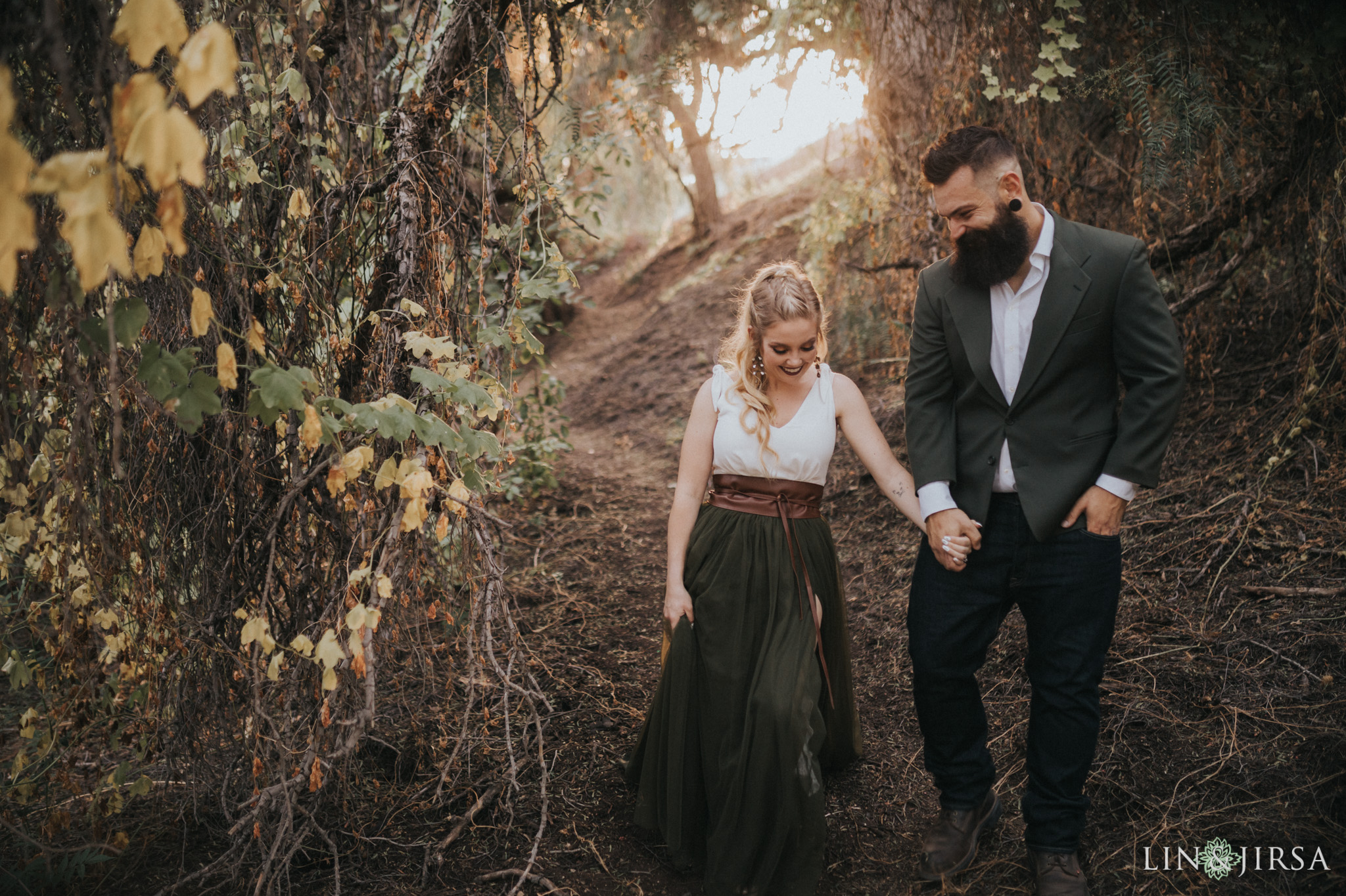 09 Oak Canyon Nature Center Orange County Rustic Engagement Photography