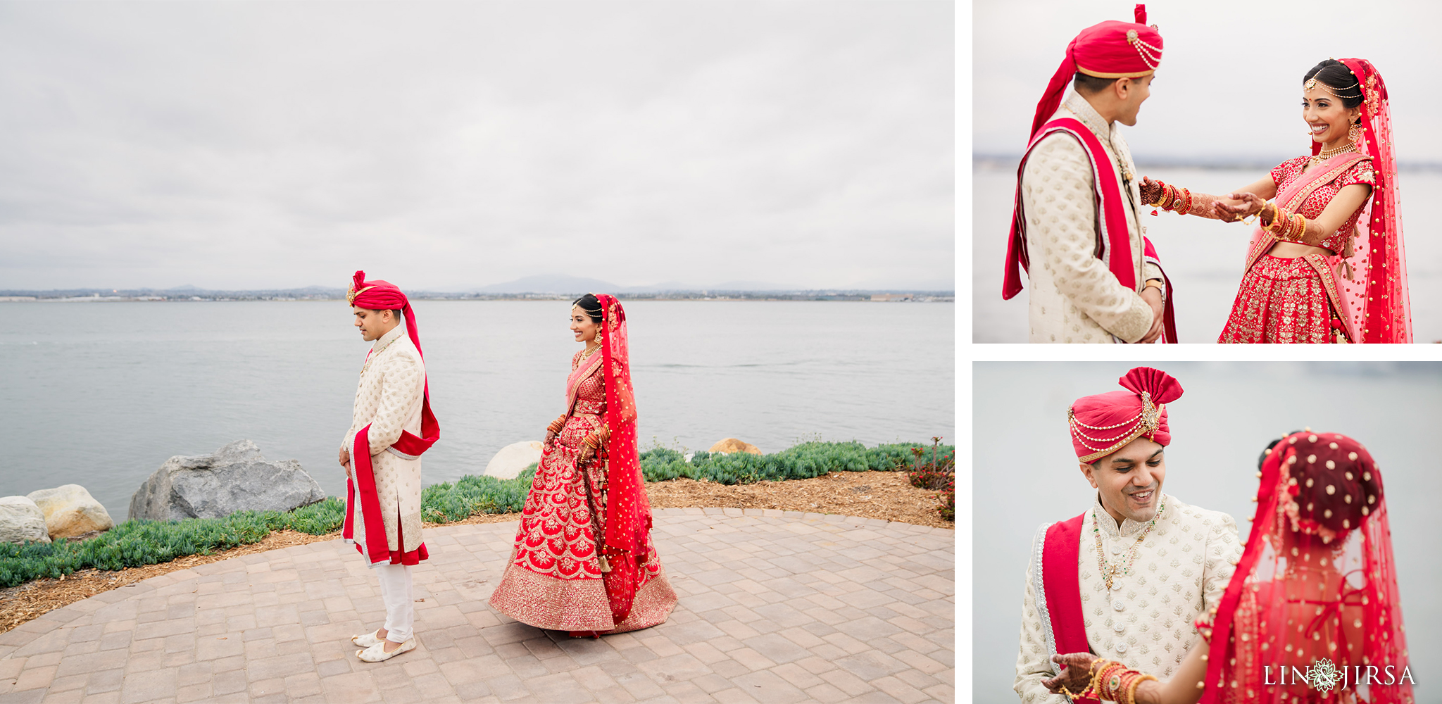 11 Loews Coronado Bay Resort San Diego Indian Wedding Photography