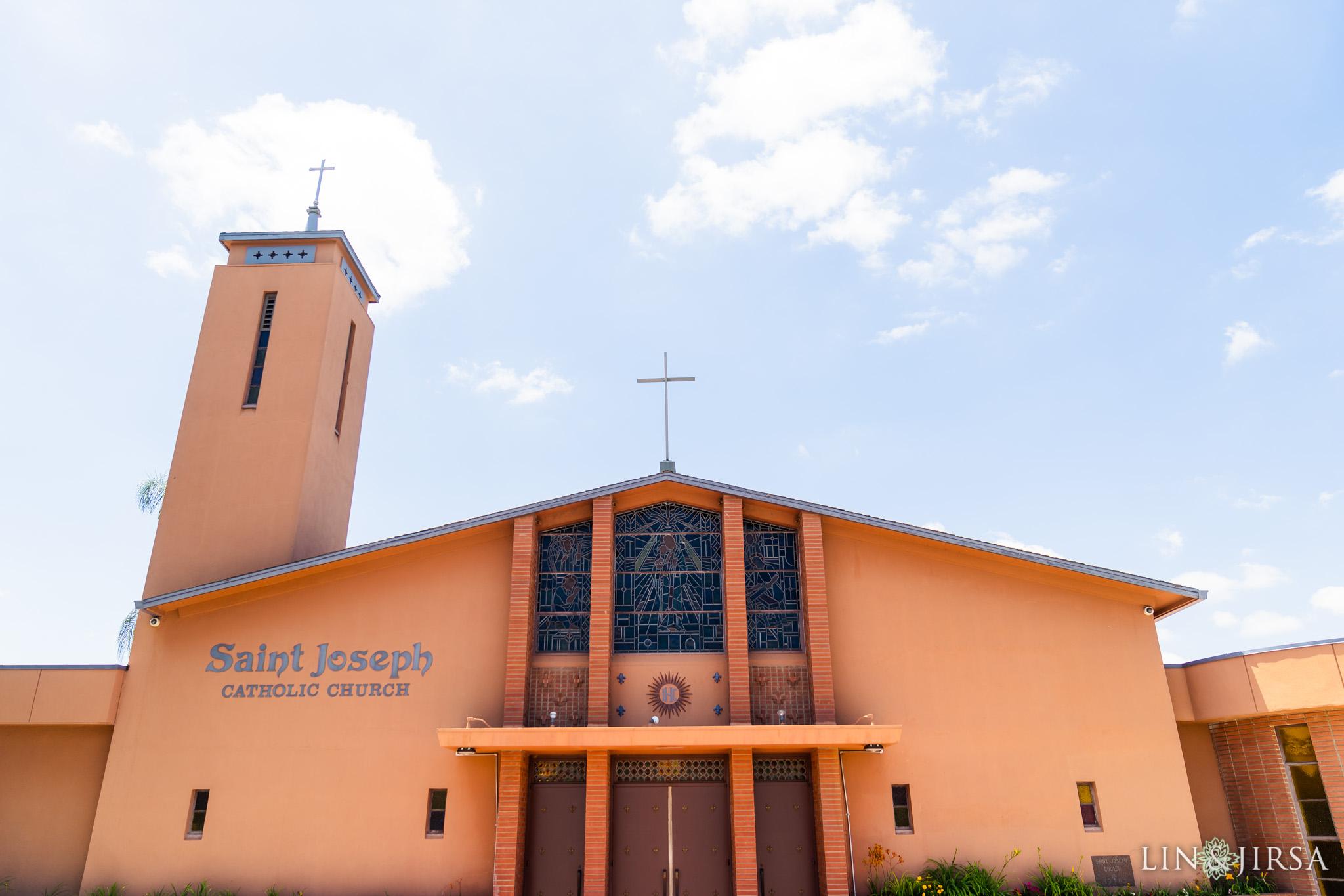 11 Saint Joseph Catholic Church Placentia Wedding Photography