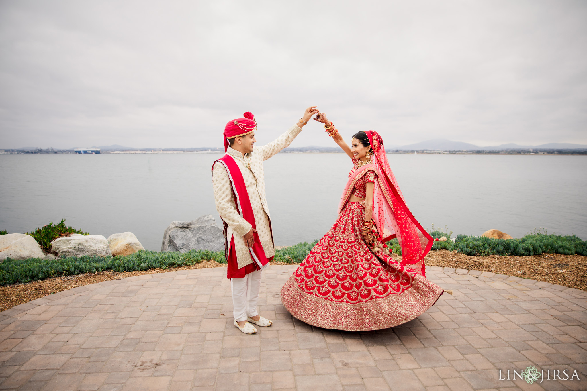 12 Loews Coronado Bay Resort San Diego Indian Wedding Photography