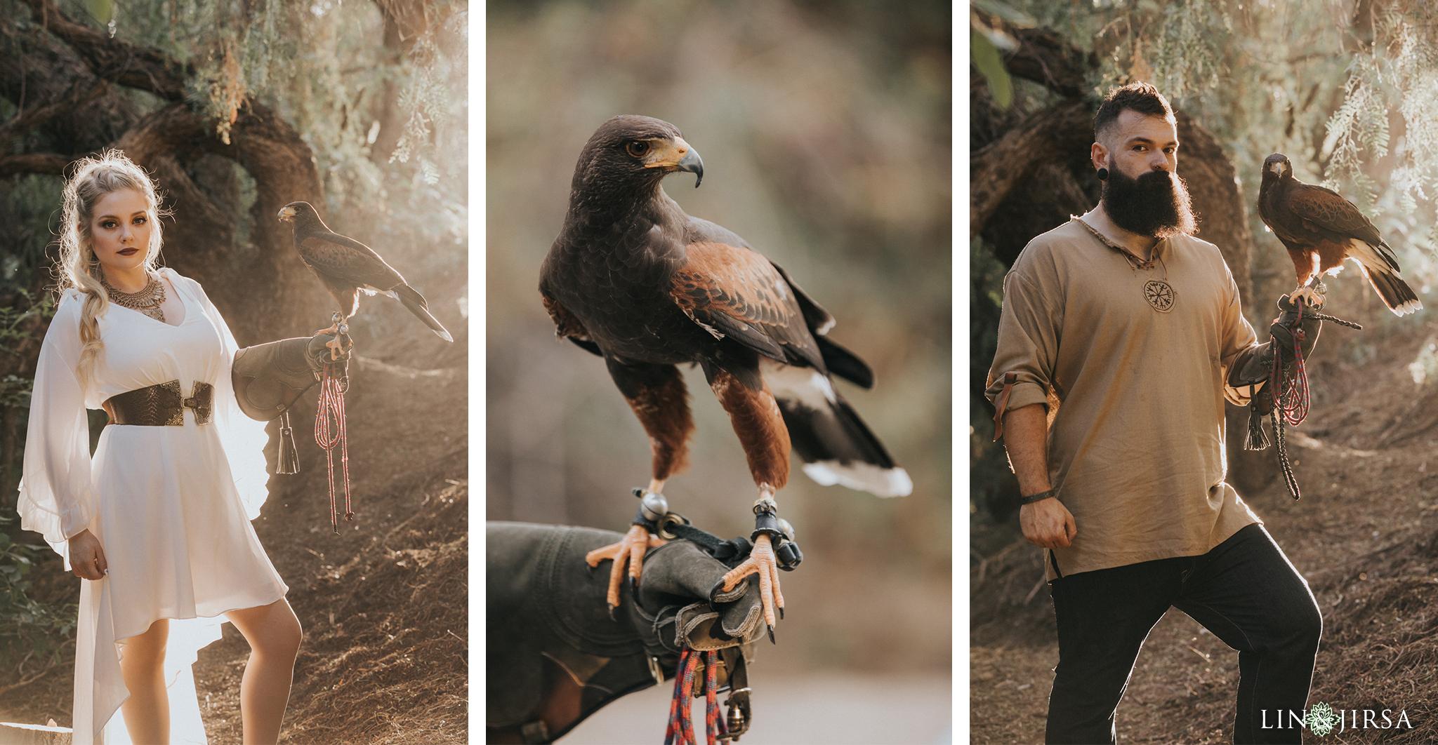 13 Oak Canyon Nature Center Orange County Viking Engagement Photography