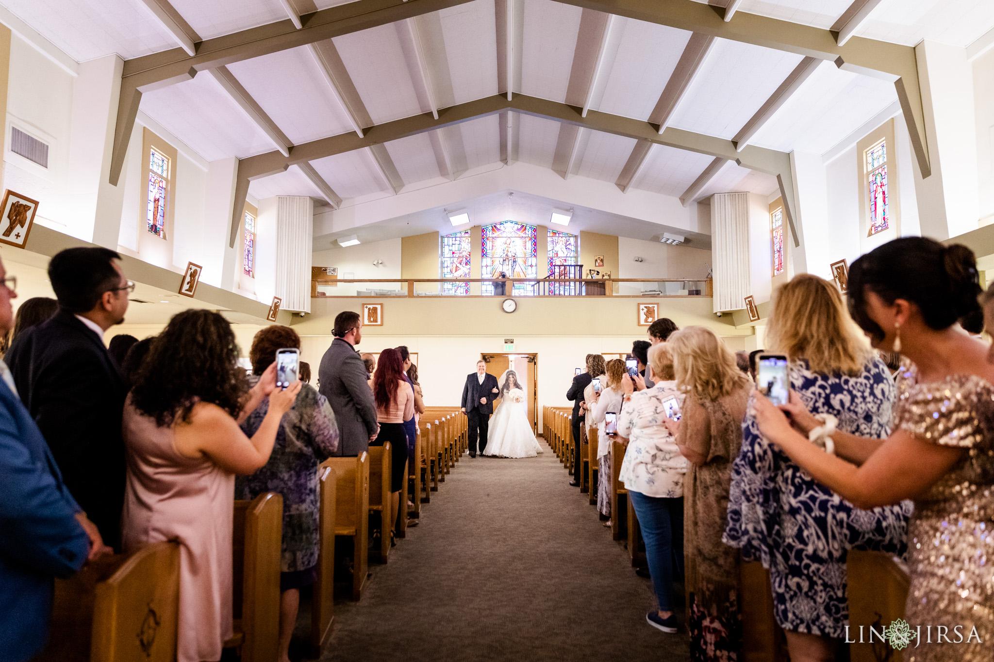 13 Saint Joseph Catholic Church Placentia Wedding Photography