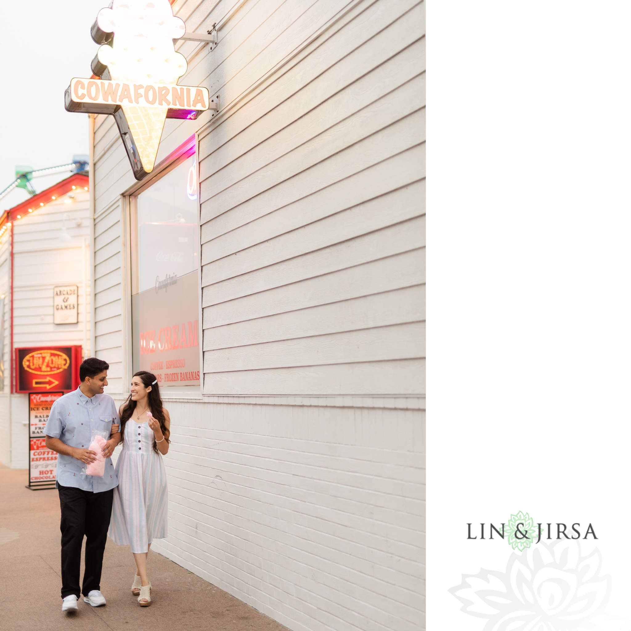 14 Balboa Fun Zone Orange County Engagement Photography