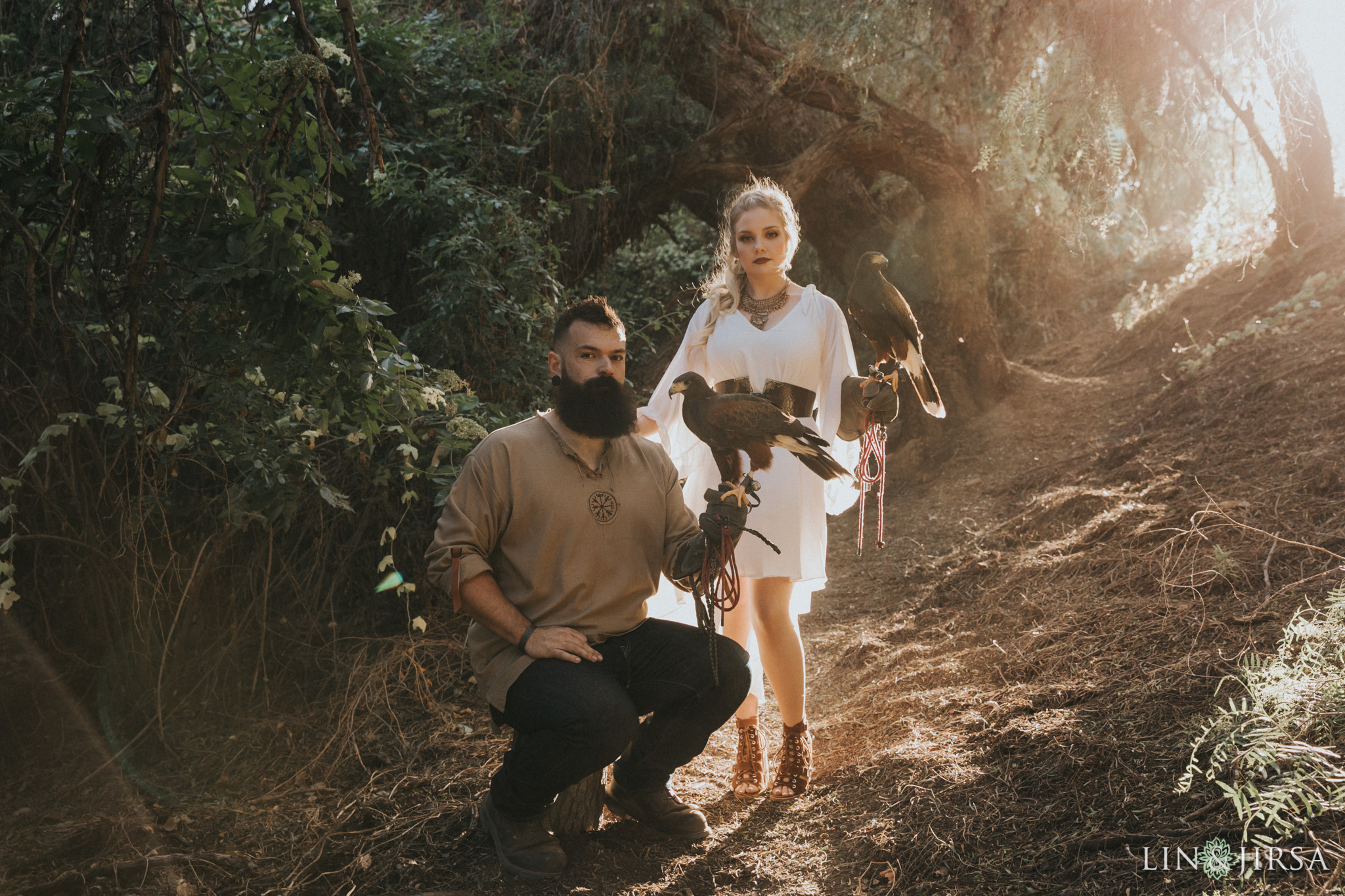 14 Oak Canyon Nature Center Orange County Game of Thrones Engagement Photography