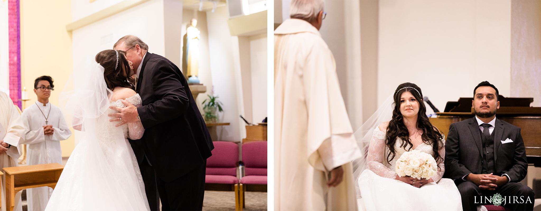 14 Saint Joseph Catholic Church Placentia Wedding Photography