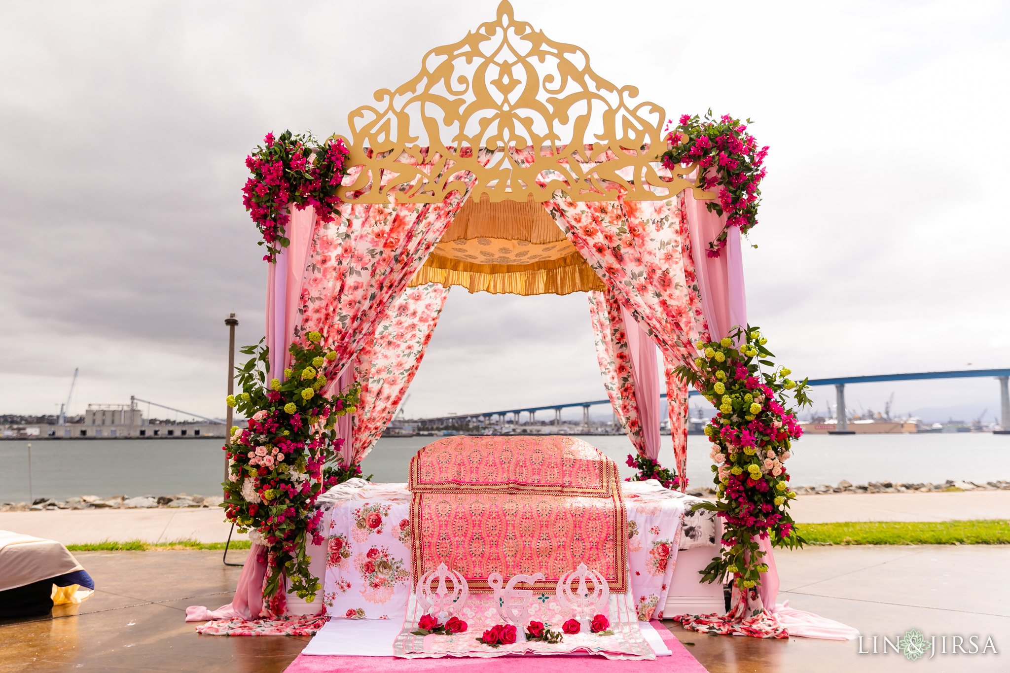 15 Coronado Resort and Spa San Diego Outdoor Punjabi Ceremony Photography