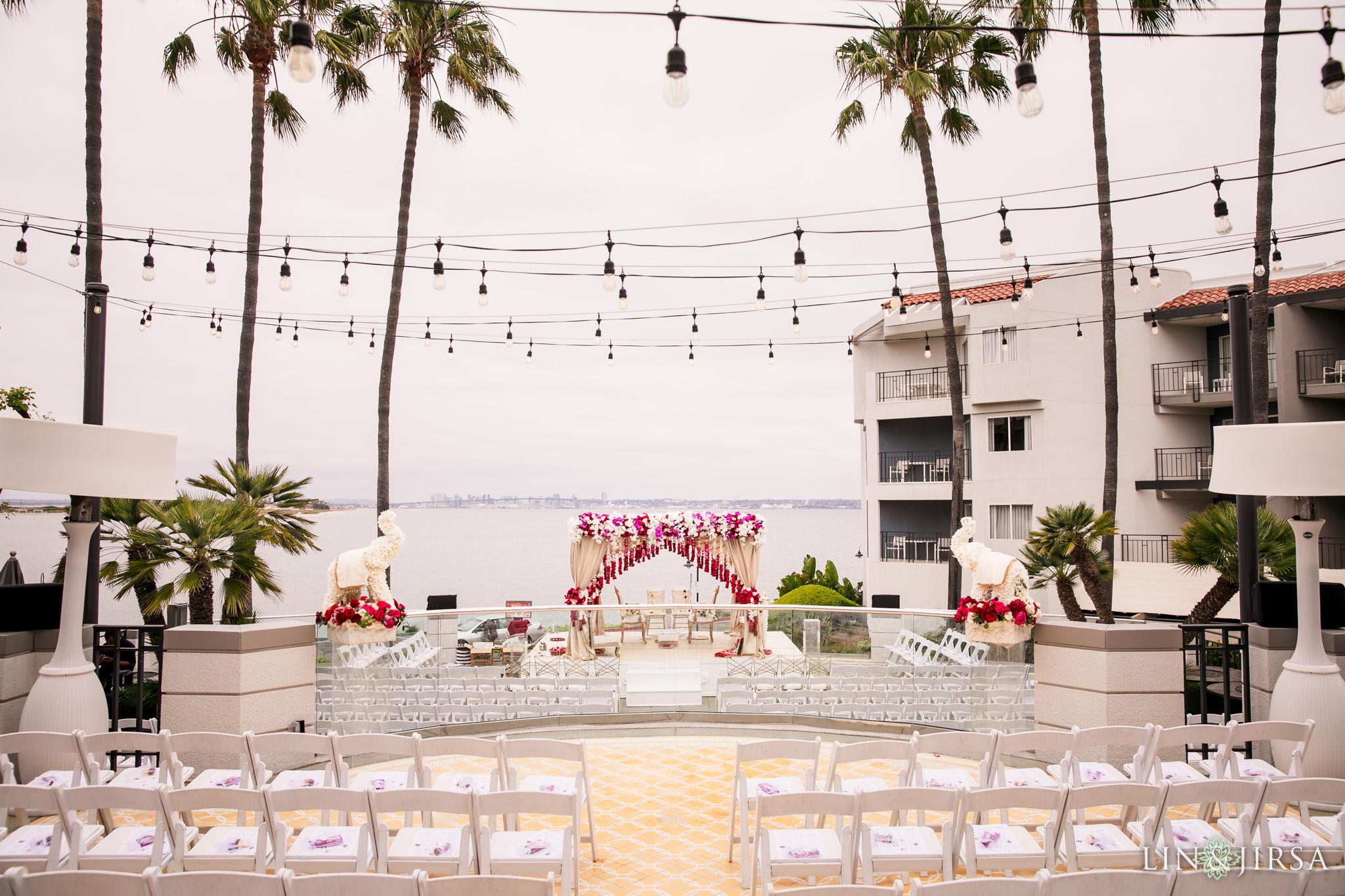 16 Loews Coronado Bay Resort San Diego Indian Wedding Photography