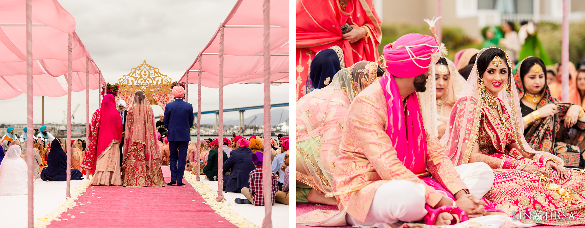 17 Coronado Resort and Spa San Diego Punjabi Wedding Photography