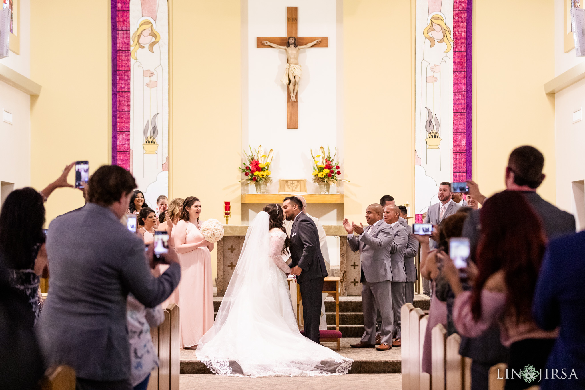 17 Saint Joseph Catholic Church Placentia Wedding Photography